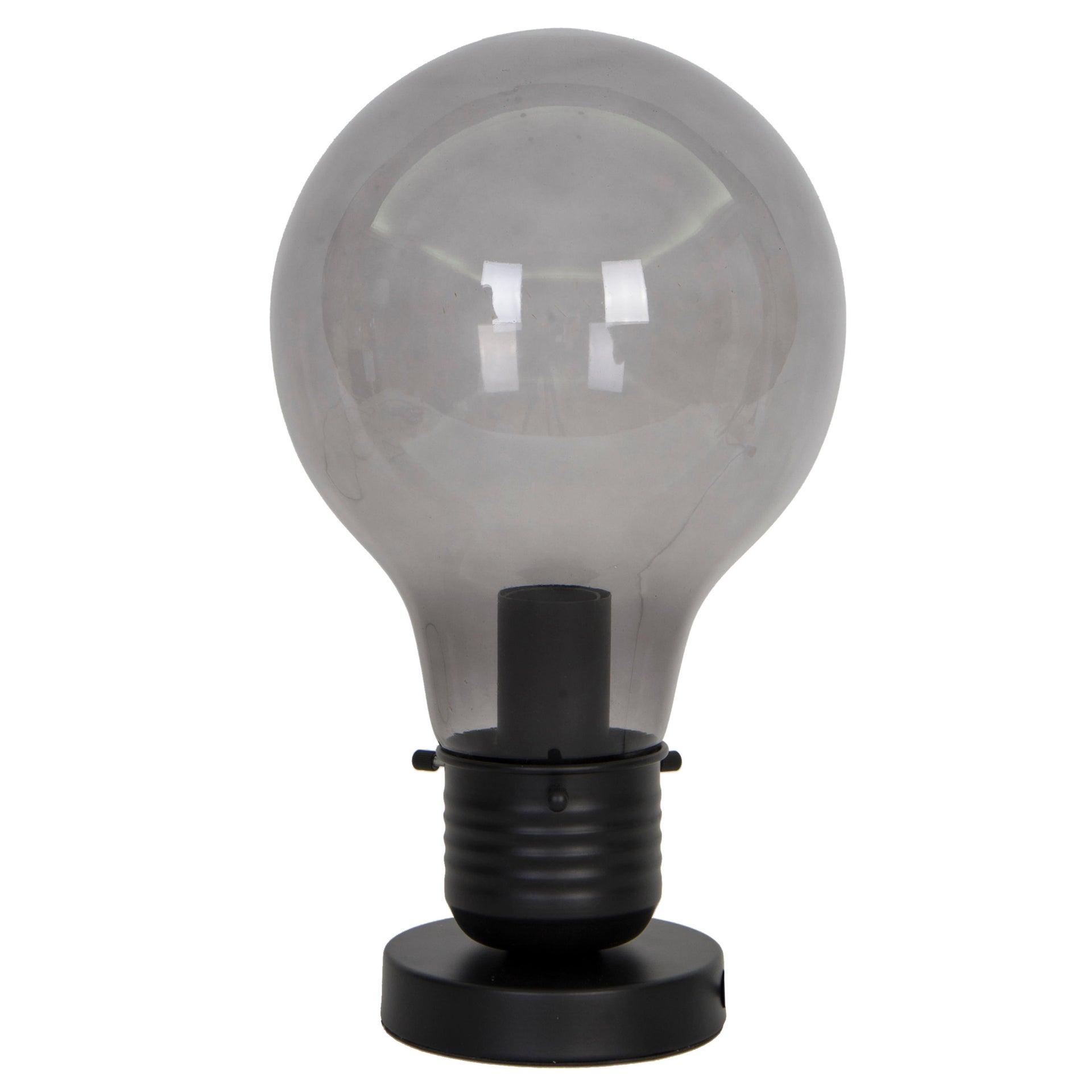 Lampada da tavolo Moderno Bombilla nero , in vetro, INSPIRE - 5