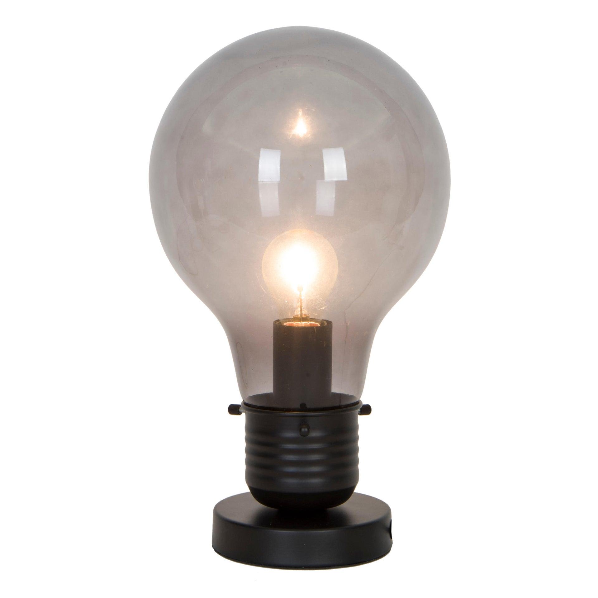 Lampada da tavolo Moderno Bombilla nero , in vetro, INSPIRE - 6