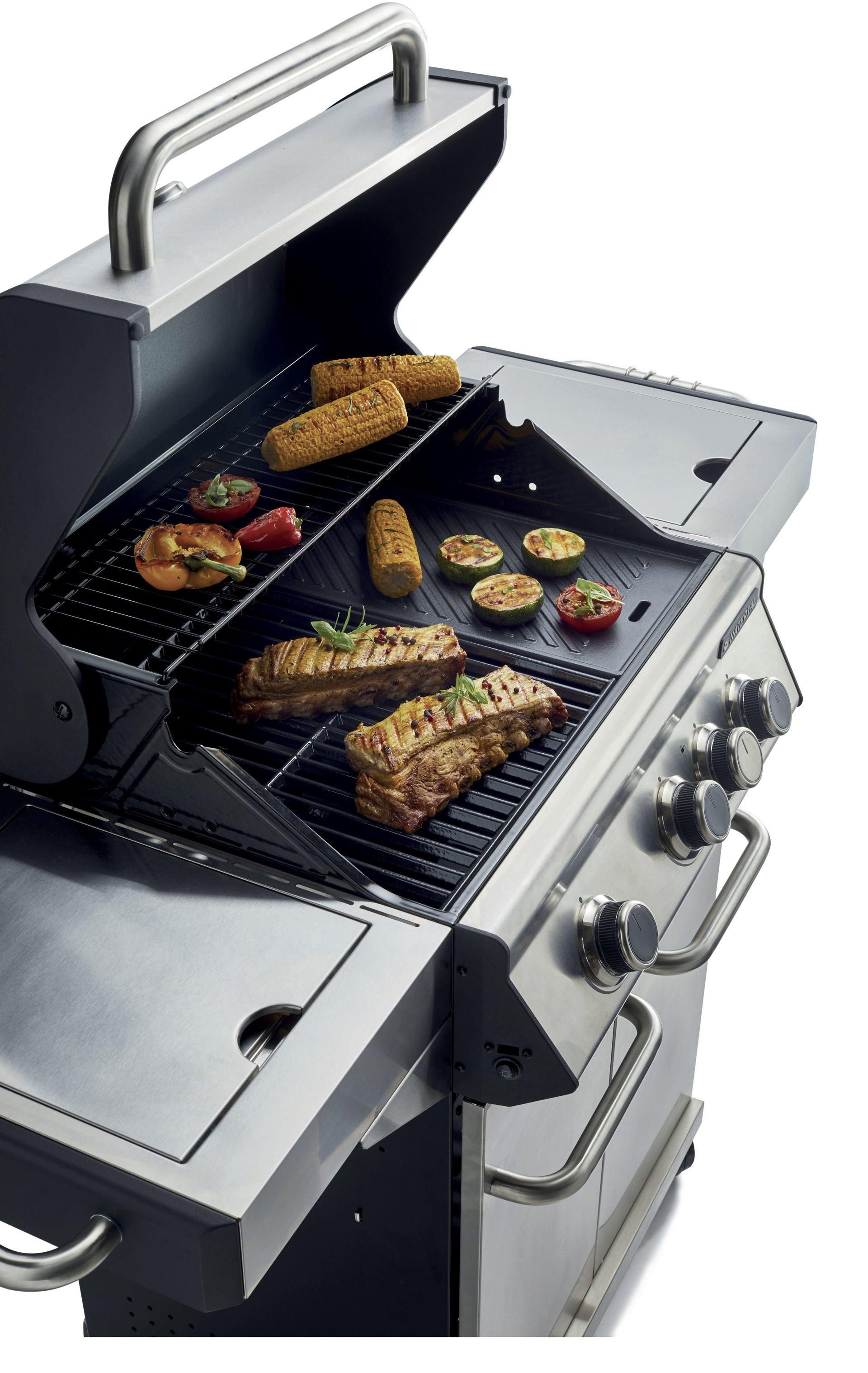 Barbecue a gas NATERIAL Hudson 3 bruciatori - 4