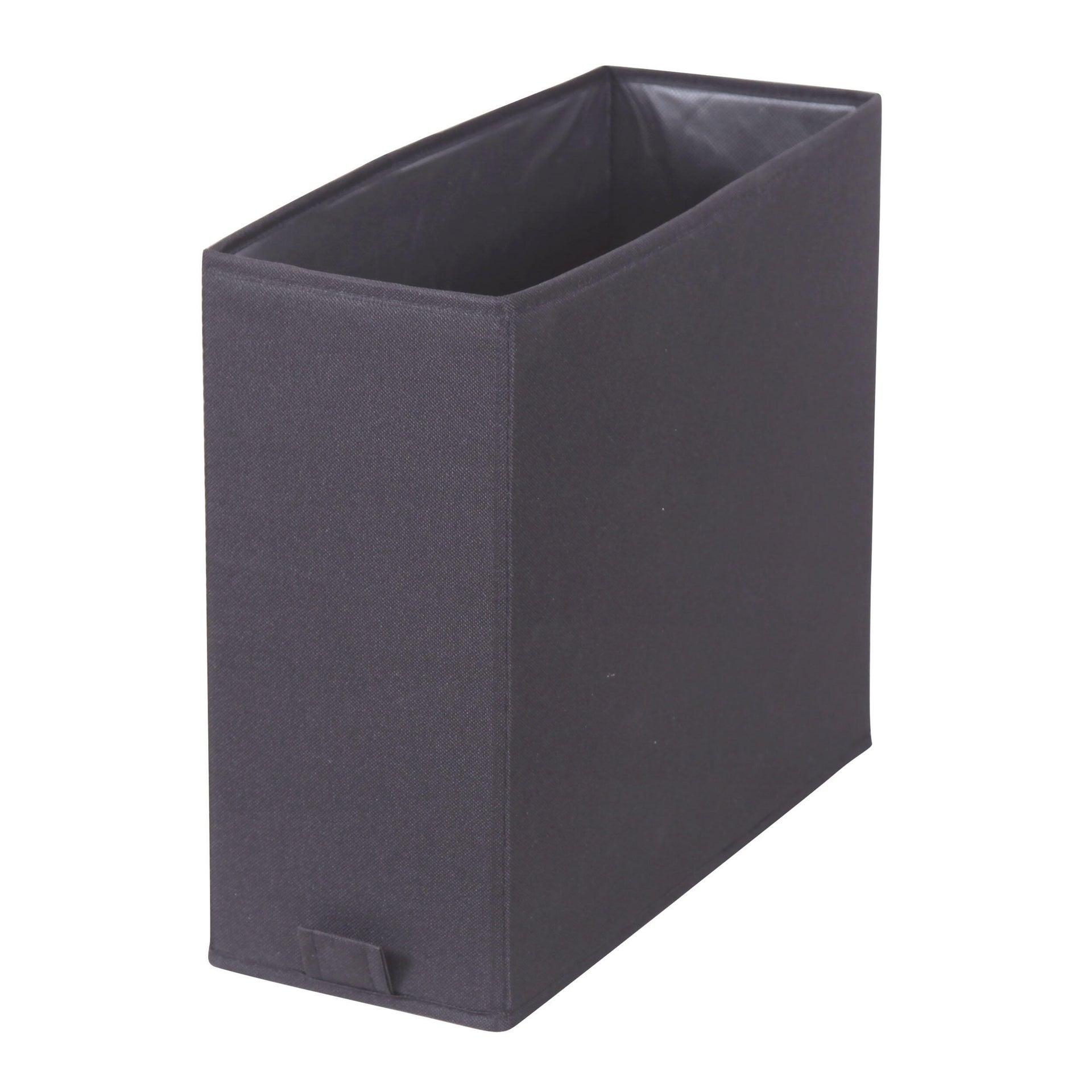 Cestino bagno / doccia L 14 x P 31 x H 31 cm grigio / argento