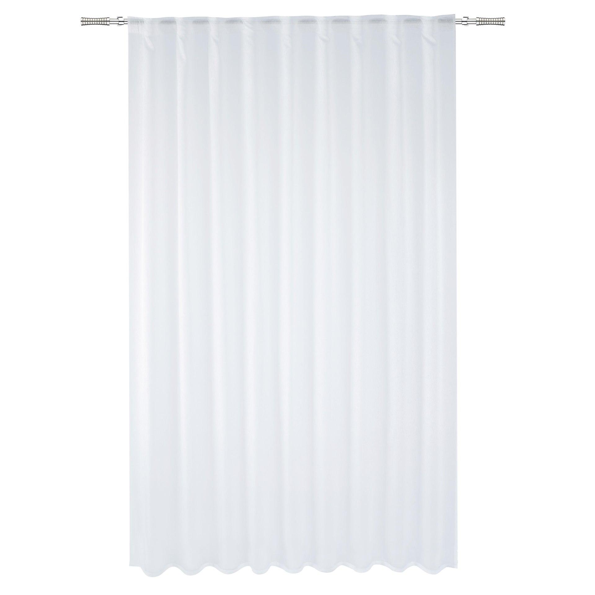 Tenda INSPIRE Softy bianco fettuccia e passanti 200 x 280 cm - 5