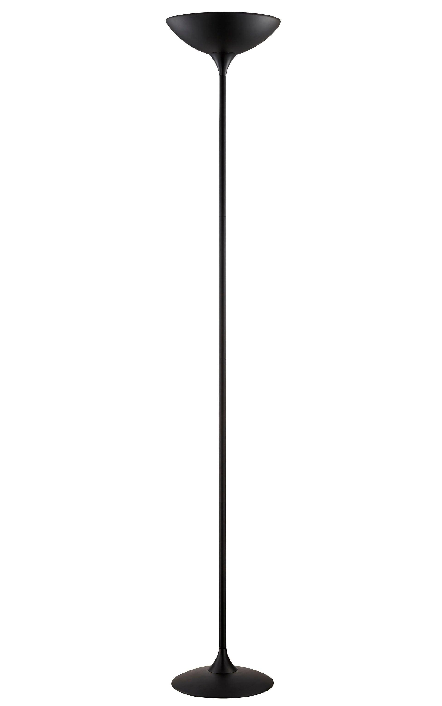 Lampada da terra Galata nero, in metallo, H 183 cm, 2xMAX60W INSPIRE - 2