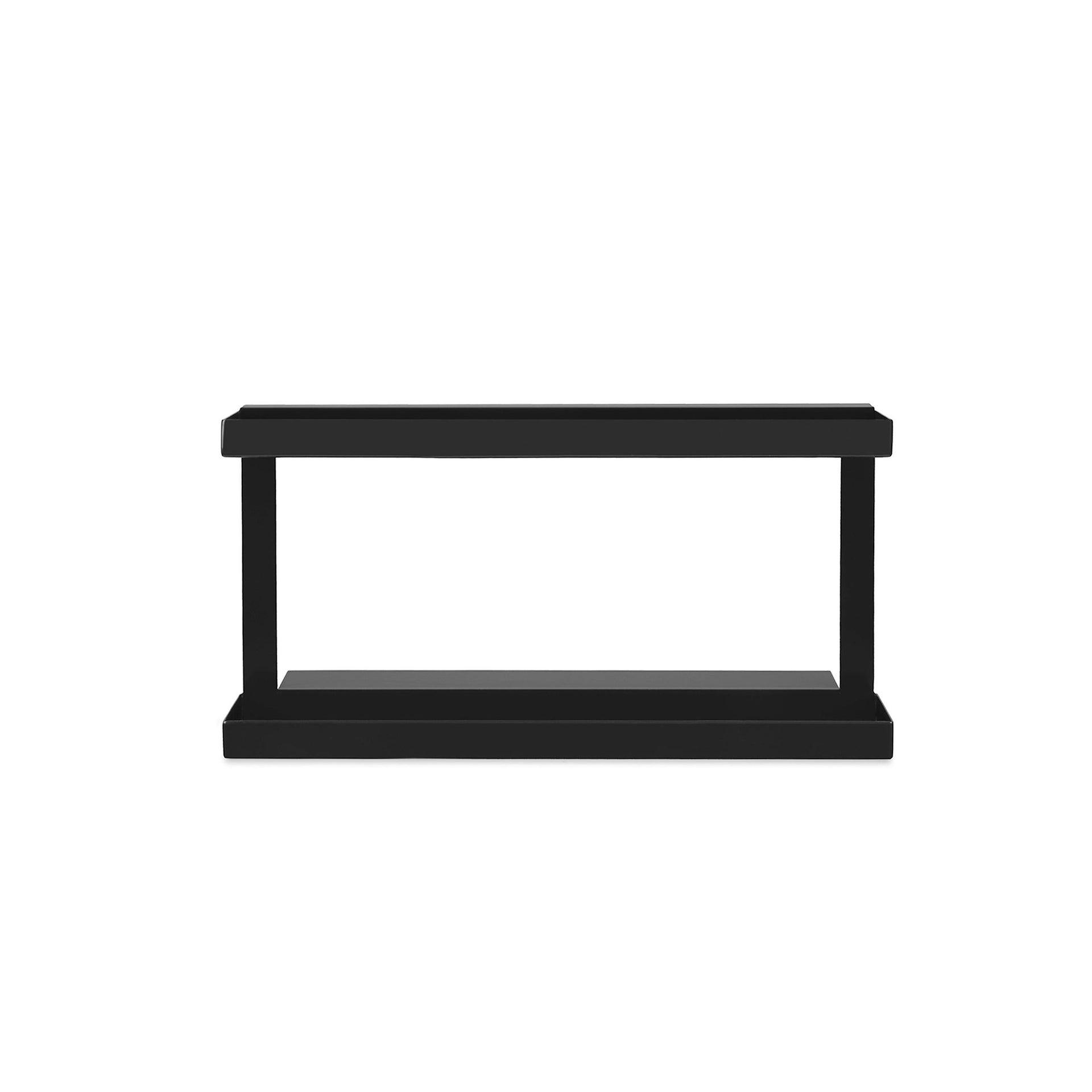 Ripiano per le spezie gancio nero P 30.4 cm x L 88 x H 156.5 mm - 7