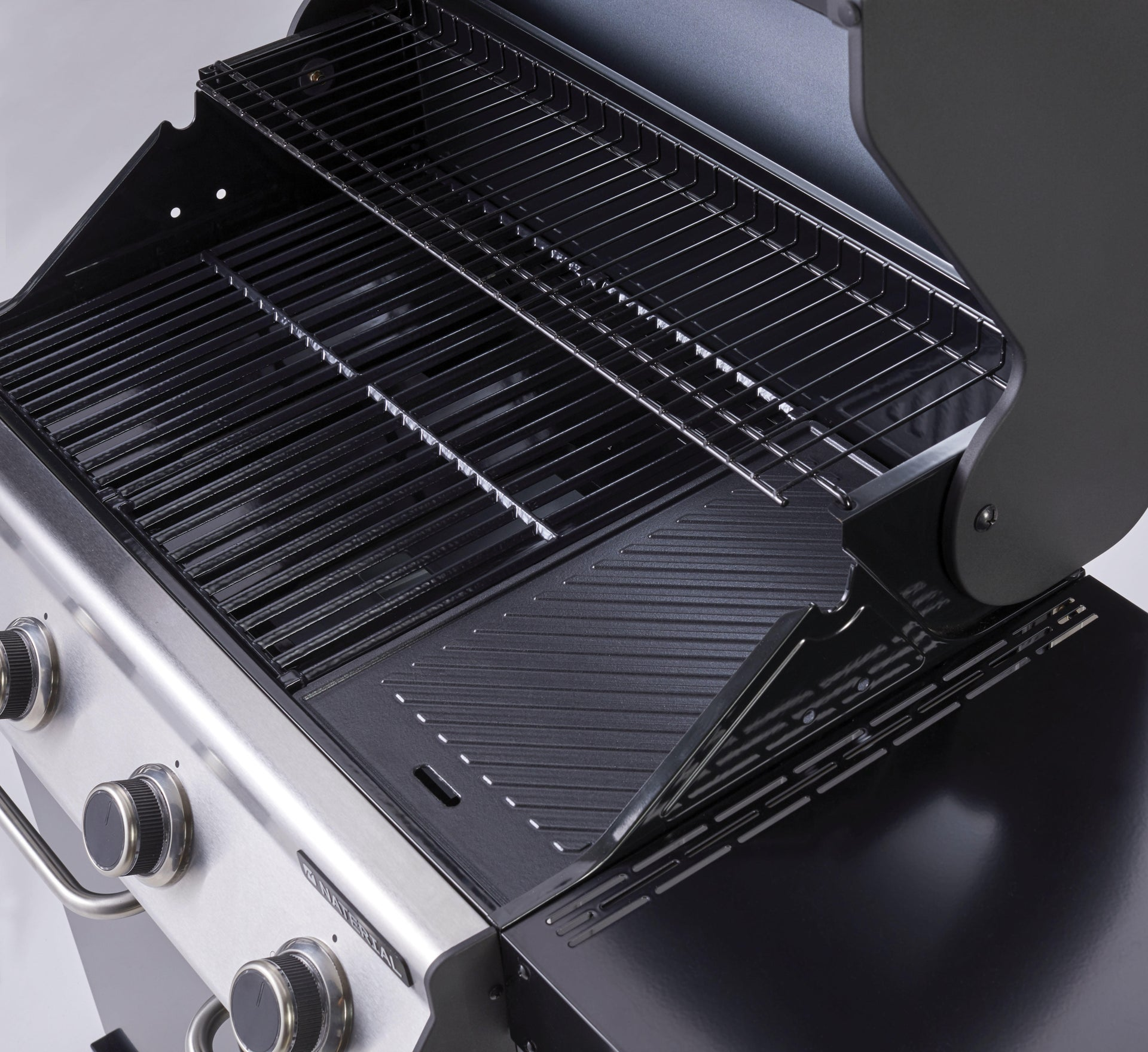 Barbecue a gas NATERIAL Kenton 4 bruciatori - 3