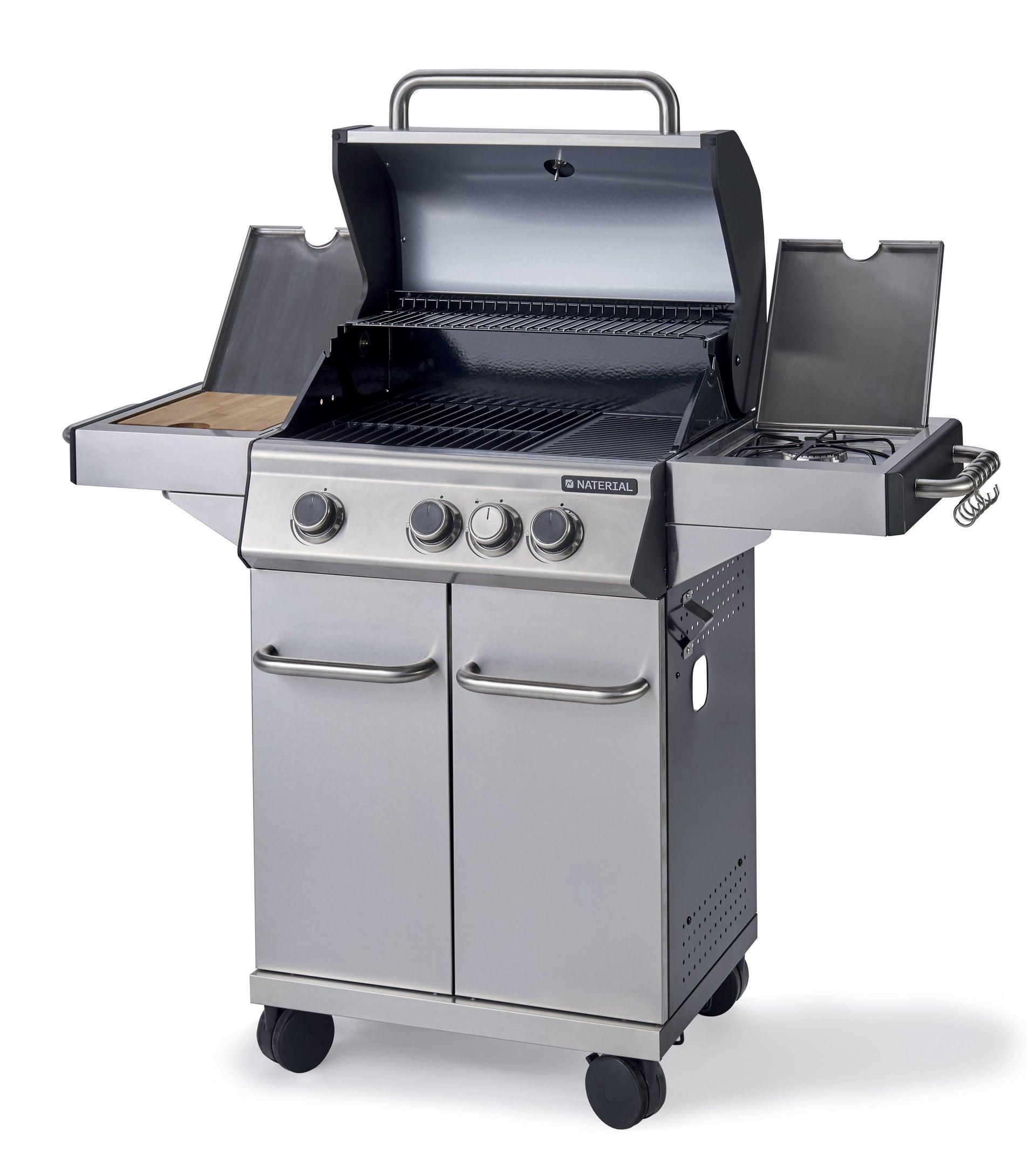 Barbecue a gas NATERIAL Hudson 3 bruciatori - 9