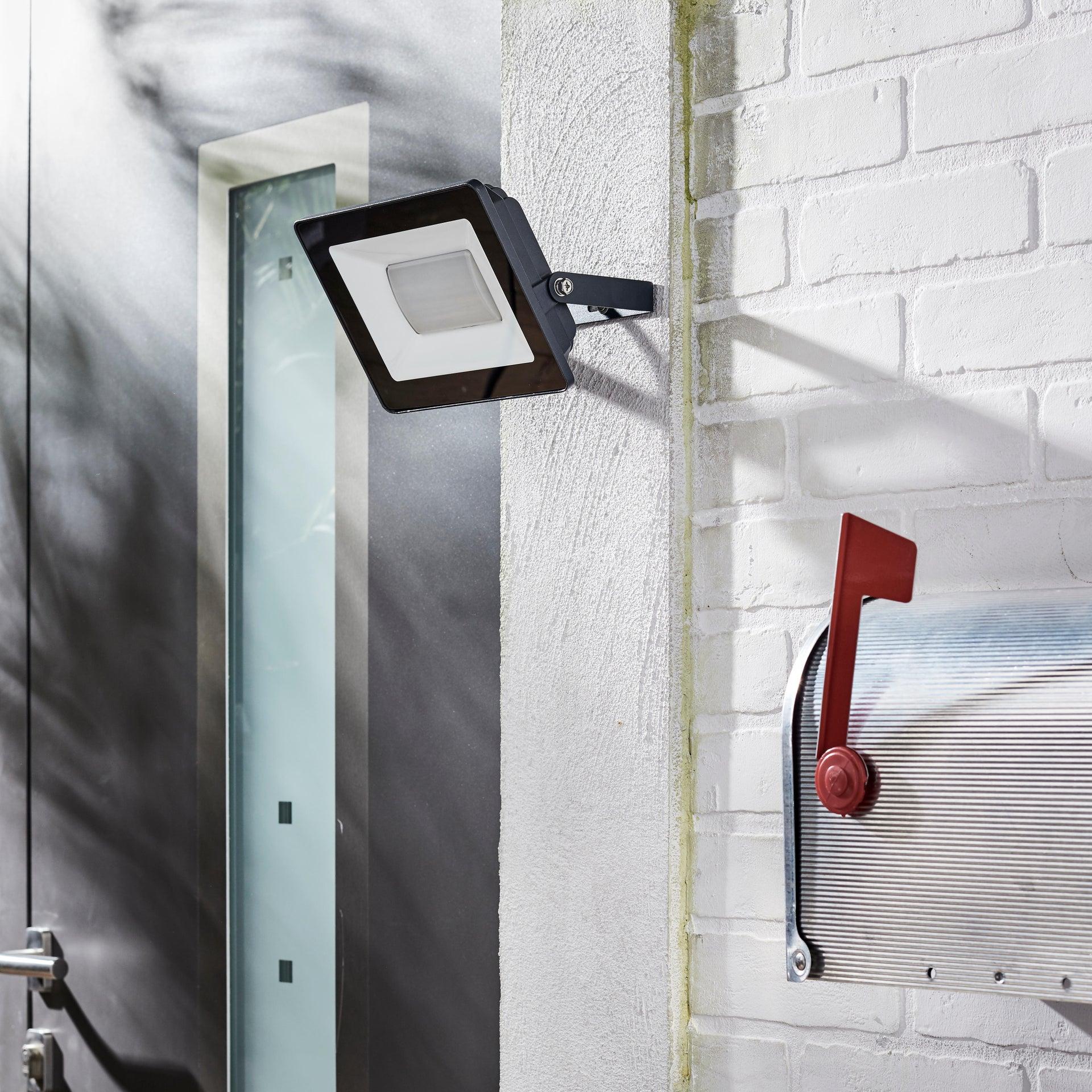 Proiettore LED integrato Yonkers in alluminio, antracite, 50W IP65 INSPIRE - 5