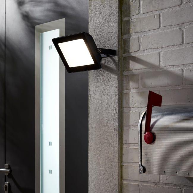 Proiettore LED integrato Yonkers in alluminio, antracite, 50W IP65 INSPIRE - 1