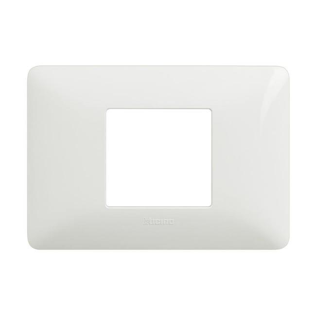 Placca Matix BTICINO 2 moduli bianco - 1