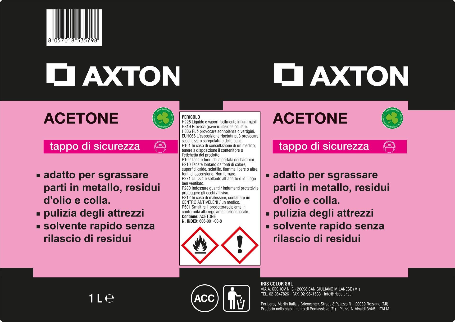 Acetone AXTON 1 - 3