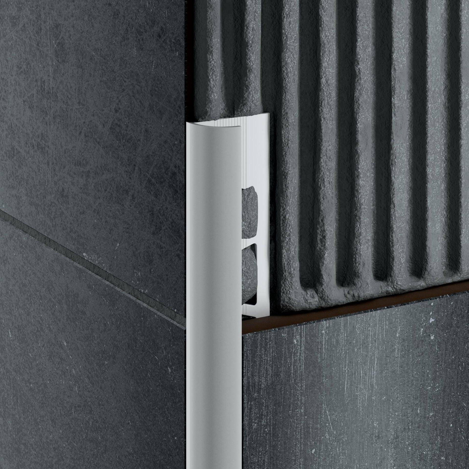 Profilo angolare interno alluminio anodizzato 0.8 x 250 cm - 5