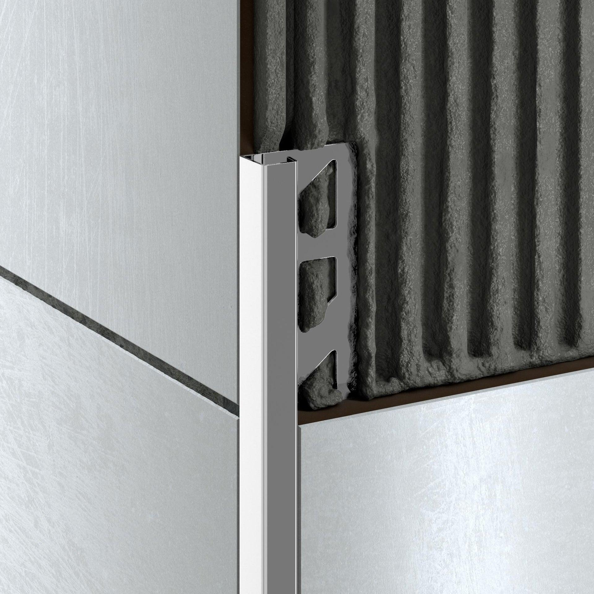 Profilo angolare interno inox 1 x 250 cm - 4