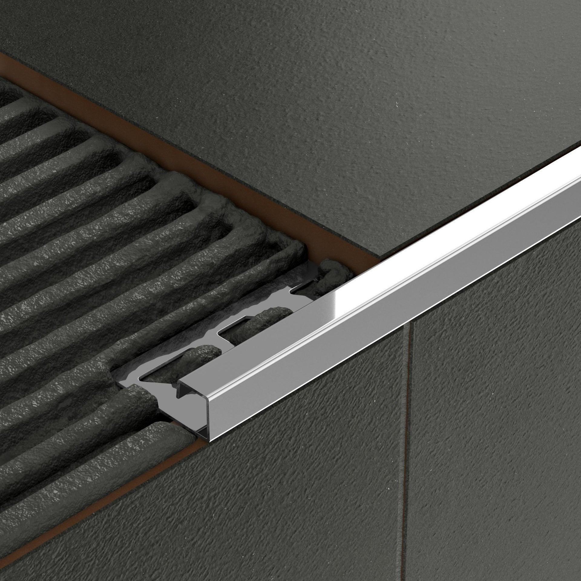 Profilo angolare interno inox 1 x 250 cm - 5