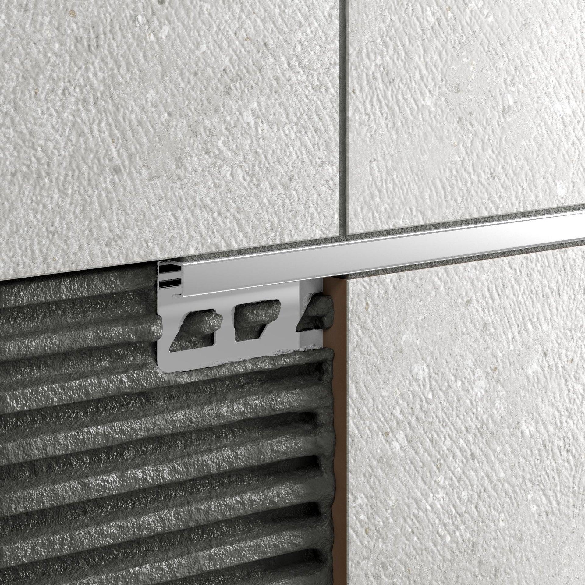 Profilo angolare interno inox 1 x 250 cm - 7