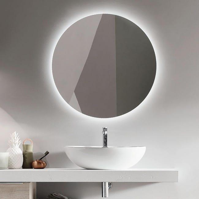 Specchio Non Luminoso Bagno Tondo Leroy Merlin