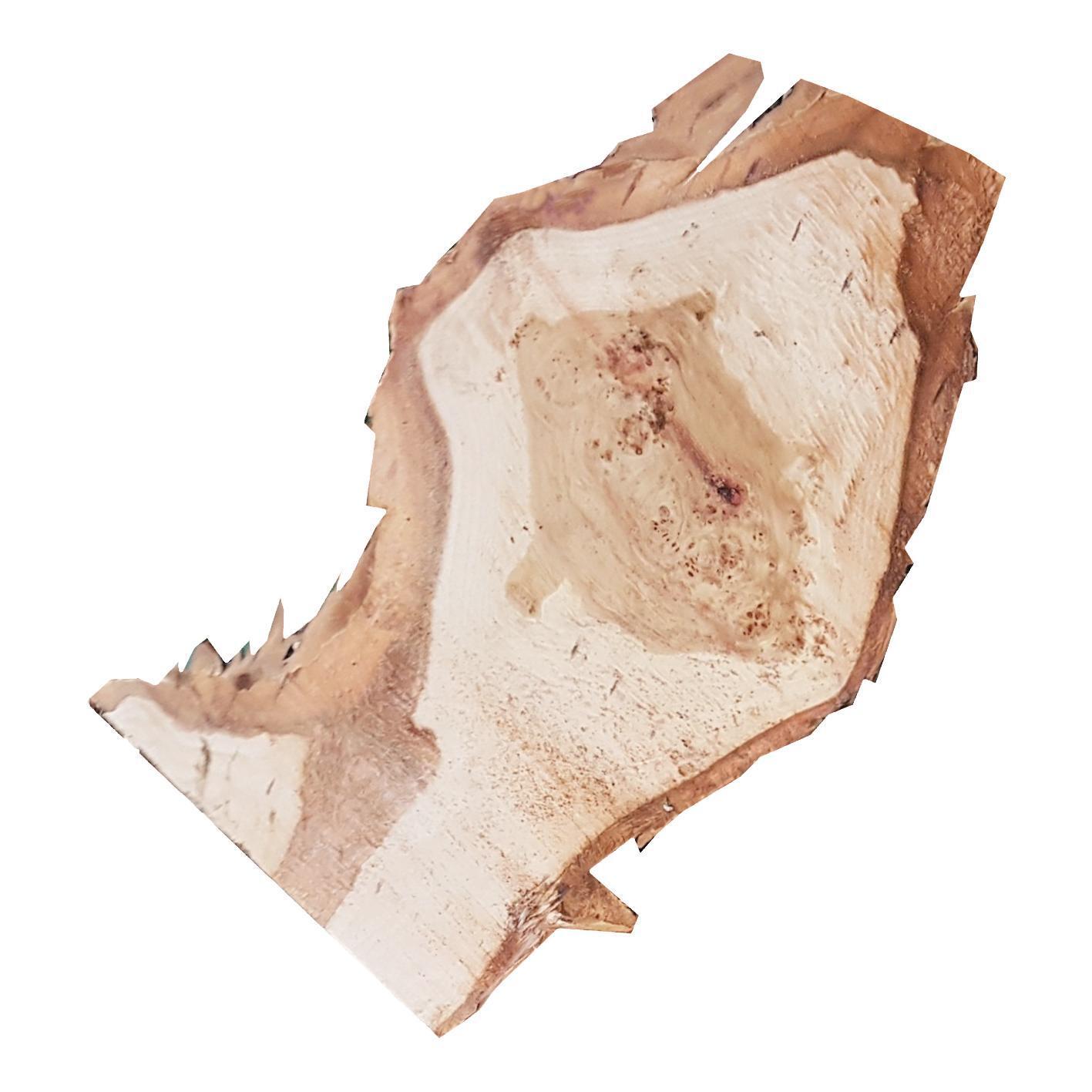 Sagoma decorativa triangolo in abete grezzo - 6