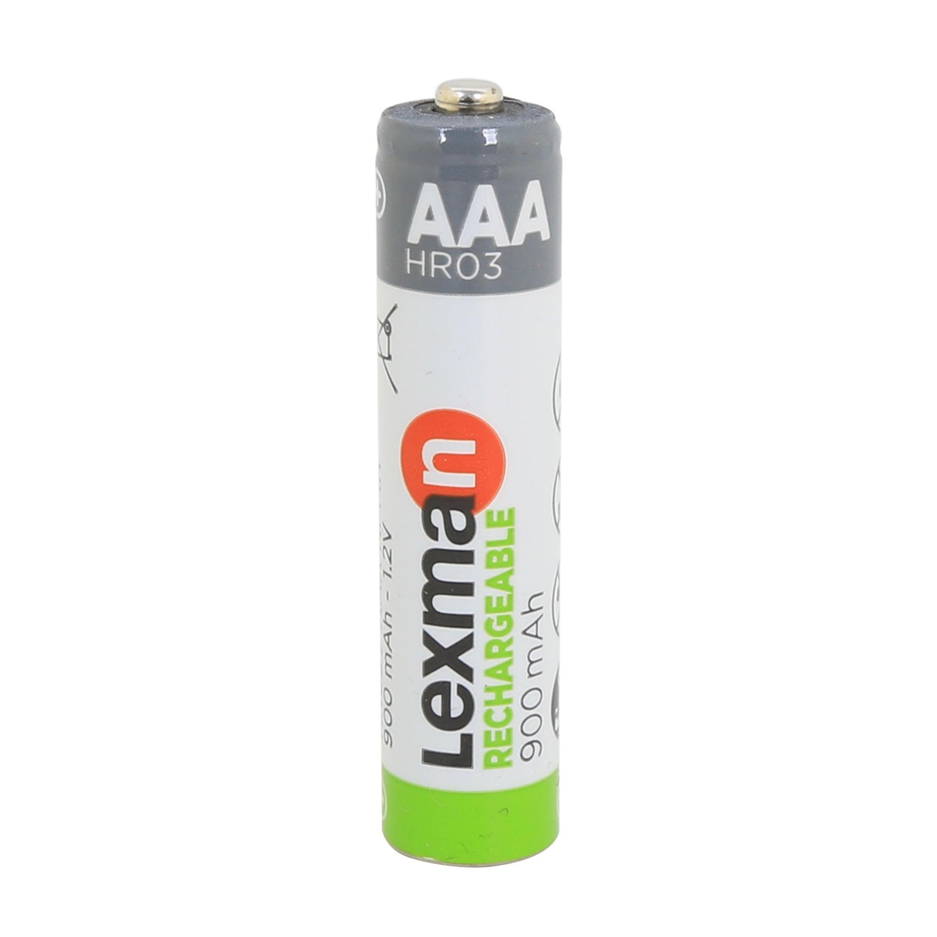 Pila ricaricabile HR6 LEXMAN 844976 4 batterie - 6