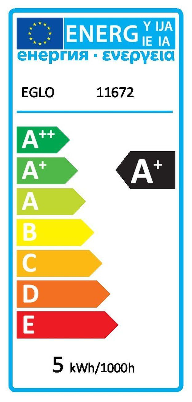 Lampadina smart lighting LED, E14, Goccia, Opaco, Luce CCT e RGB, 5W=400LM (equiv 40 W), 180° , EGLO - 2