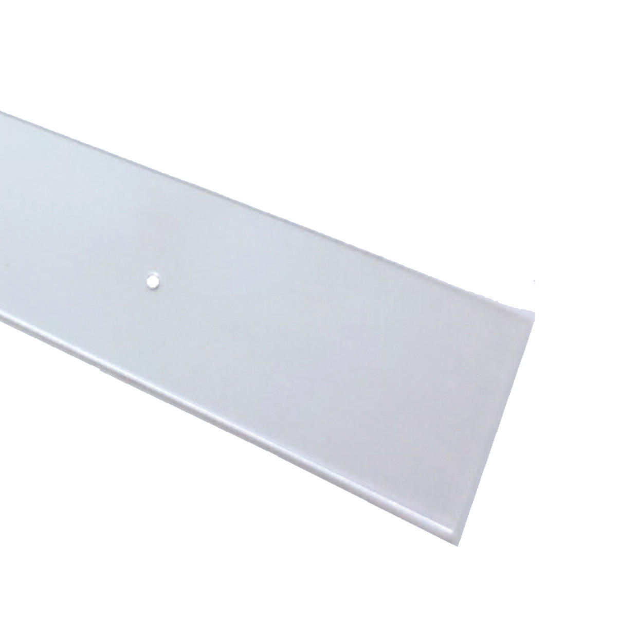 Paracolpi battisedia in polistirene trasparente 1 m x 100 mm, Sp 2 mm