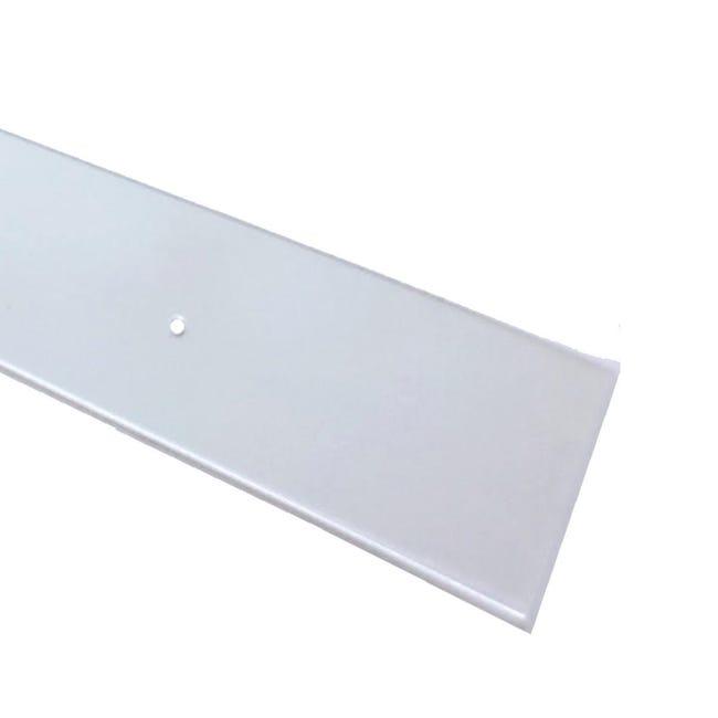 Paracolpi battisedia in polistirene trasparente 1 m x 100 mm, Sp 2 mm - 1