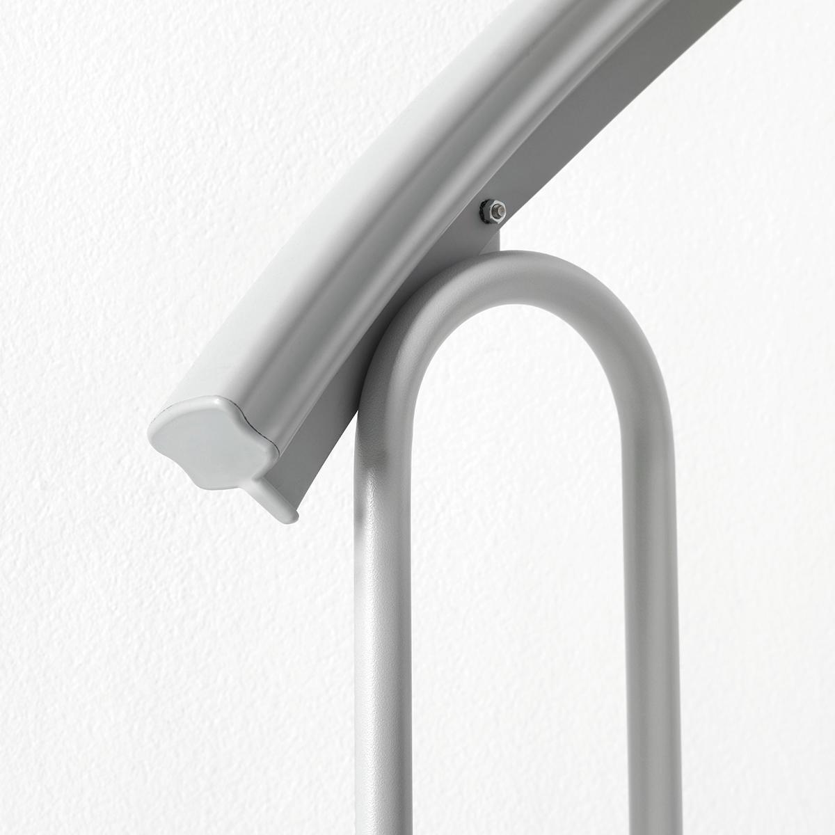 Scala a chiocciola tonda Snail FONTANOT L 120 cm, gradino grigio, struttura grigio - 6