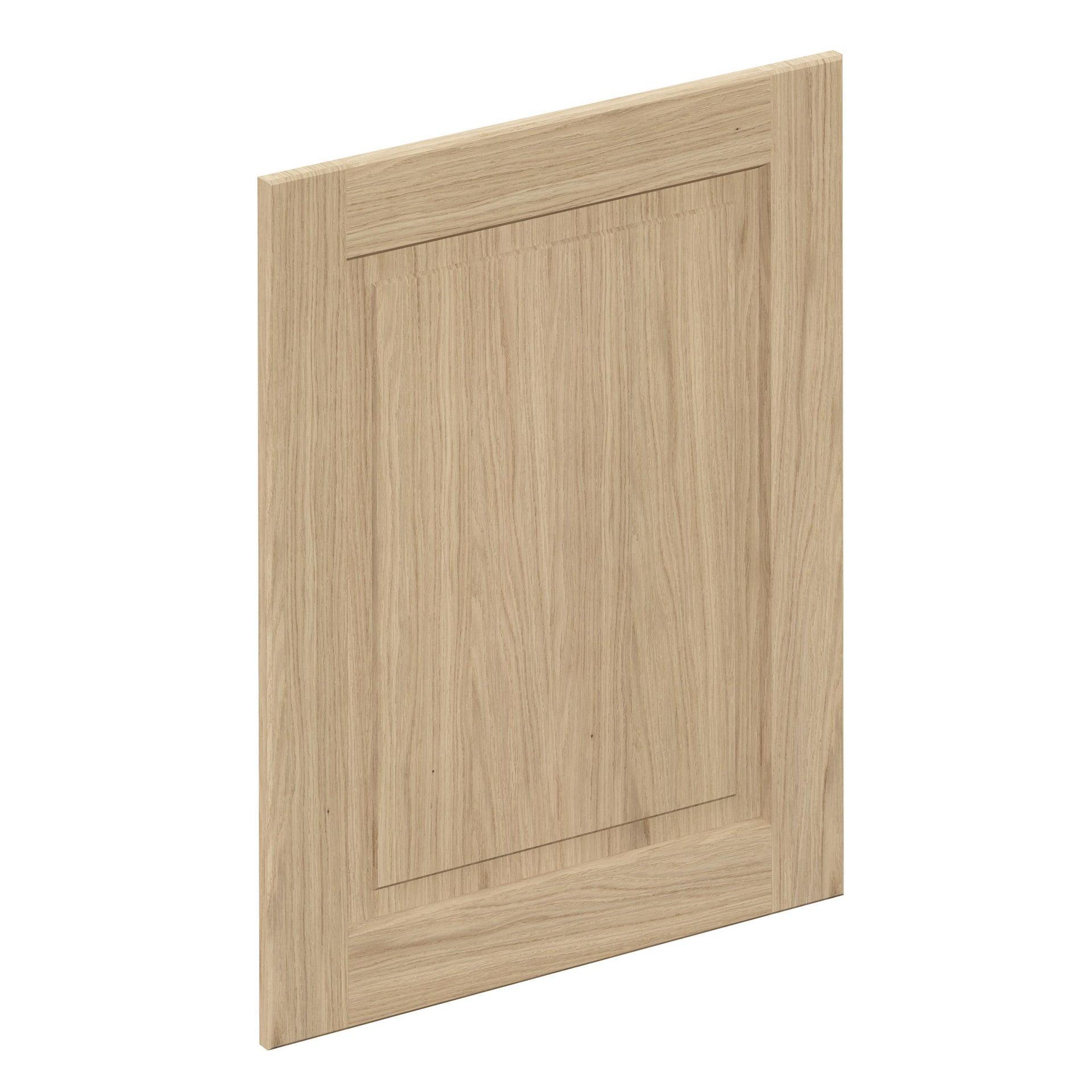 Porta dell'armadio da cucina DELINIA ID Praga 59.7 x 76.5 rovere chiaro - 1