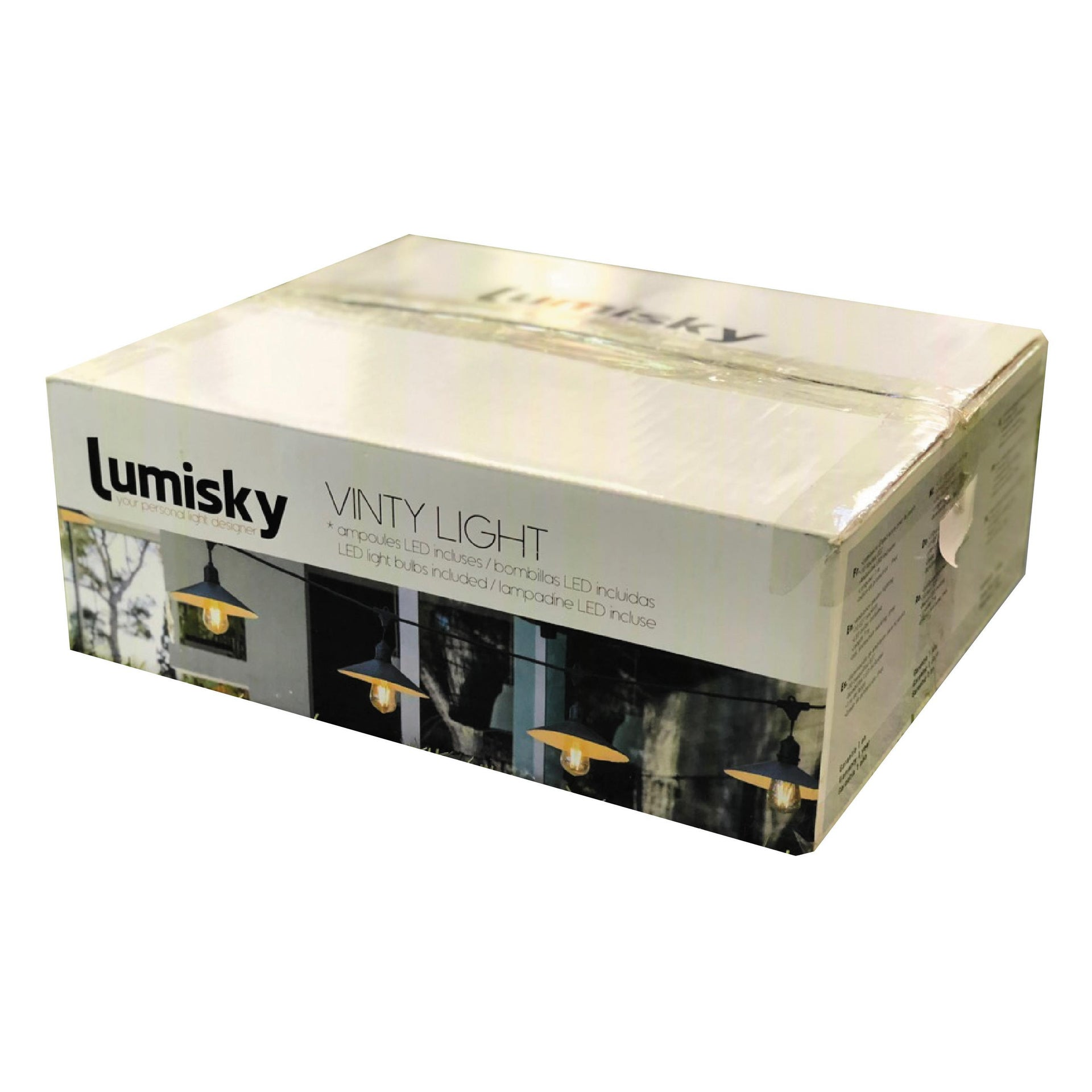Ghirlanda VINTY 10 lampadine 7 m IP44 LUMISKY - 8