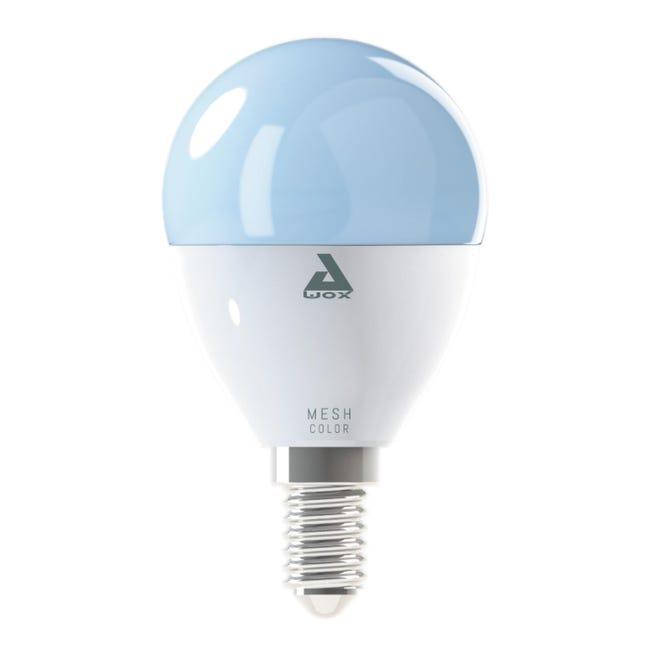 Lampadina smart lighting LED, E14, Goccia, Opaco, Luce CCT e RGB, 5W=400LM (equiv 40 W), 180° , EGLO - 1