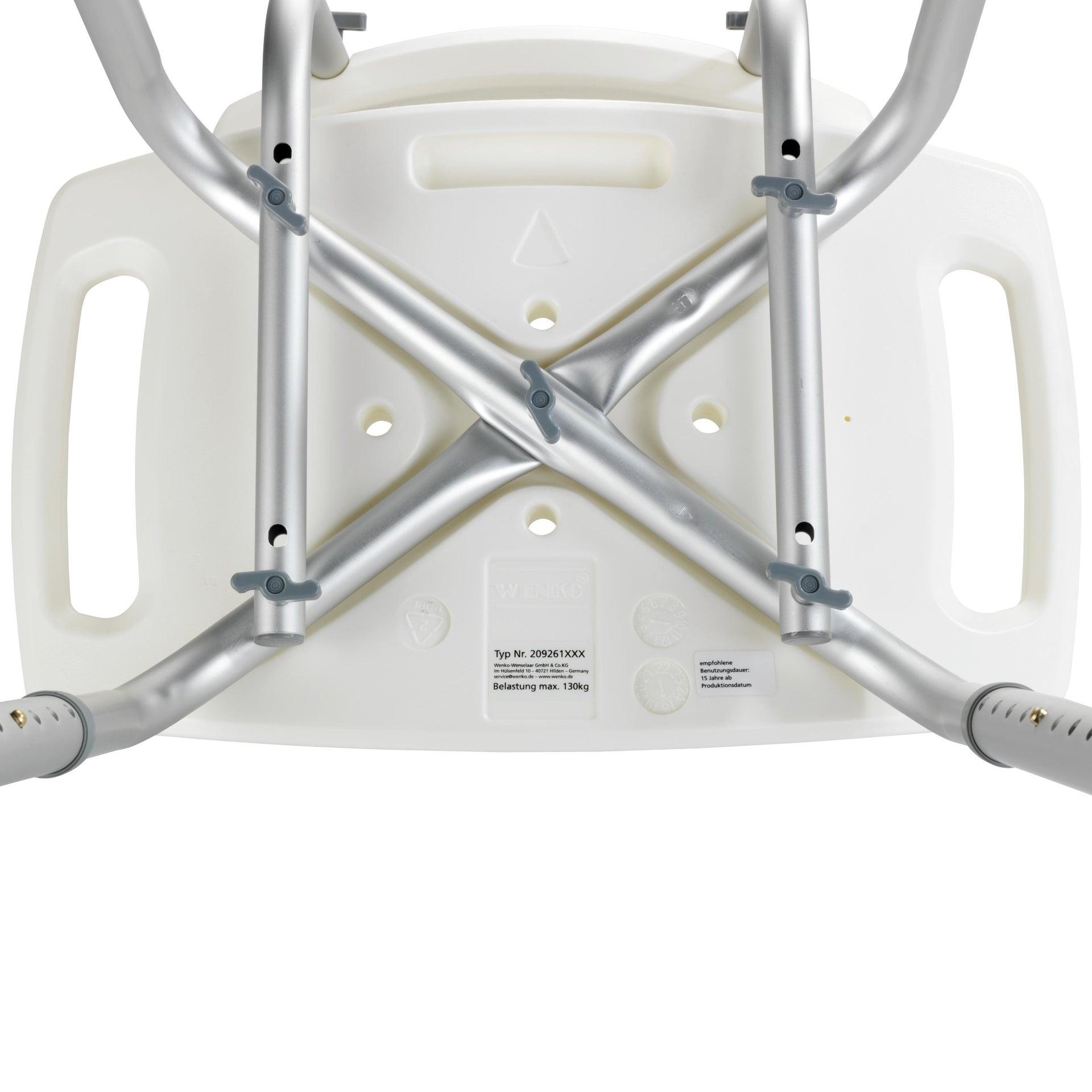 Sgabello Secura In Alluminio Bianco Leroy Merlin