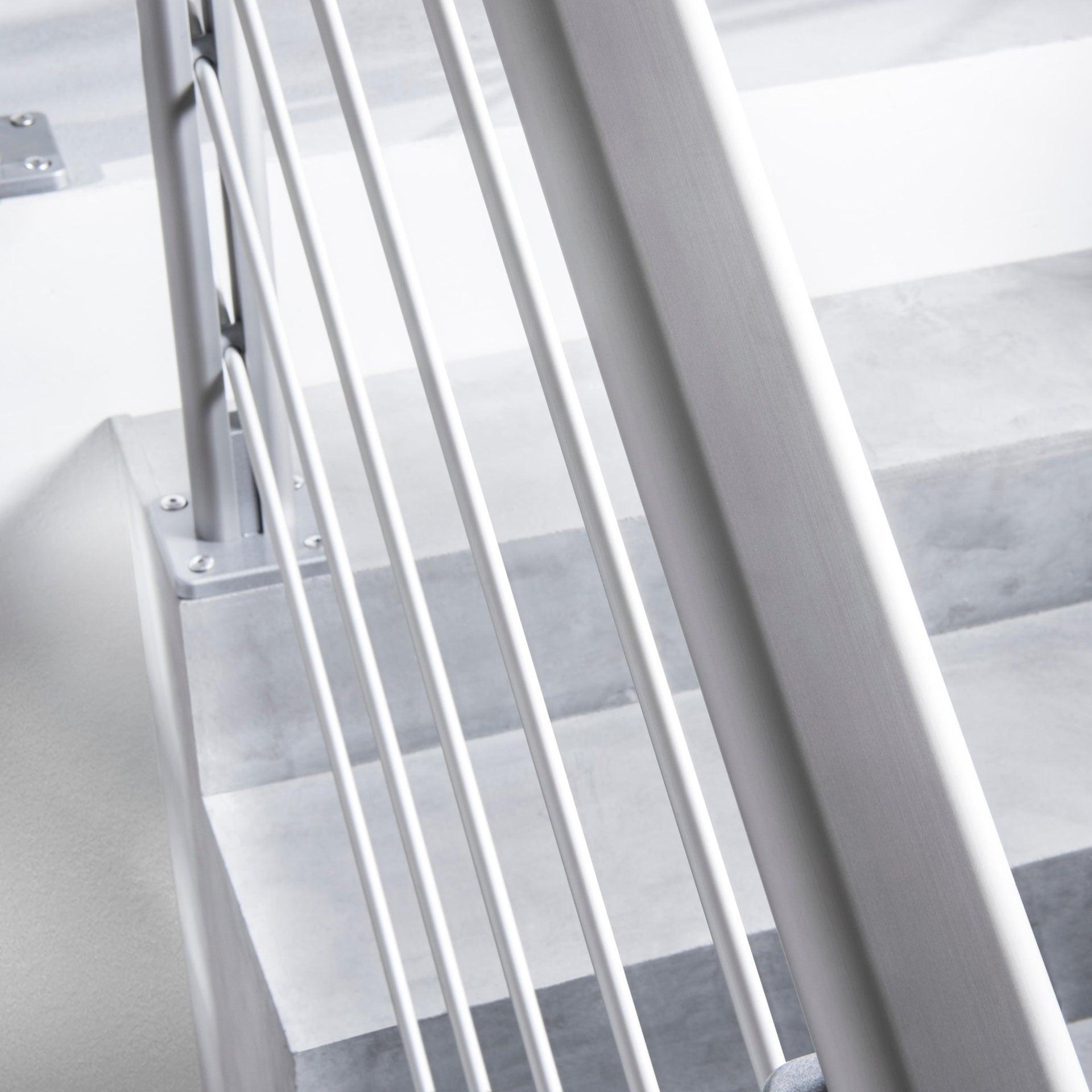 Balaustra ARTENS in alluminio L 200 x H 100 cm grigio - 8