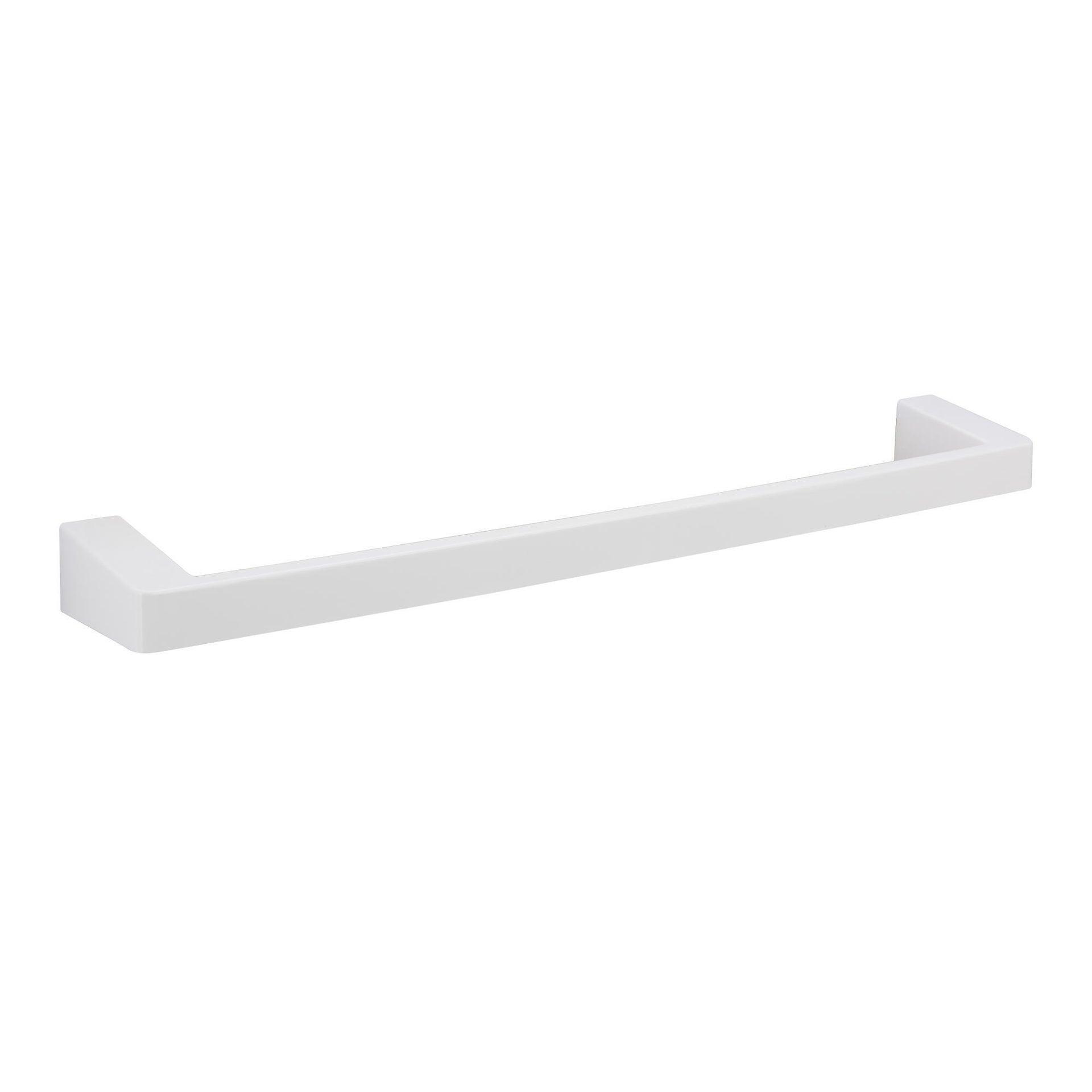 Porta salviette fisso a muro 1 barra lucido L 55 cm - 1