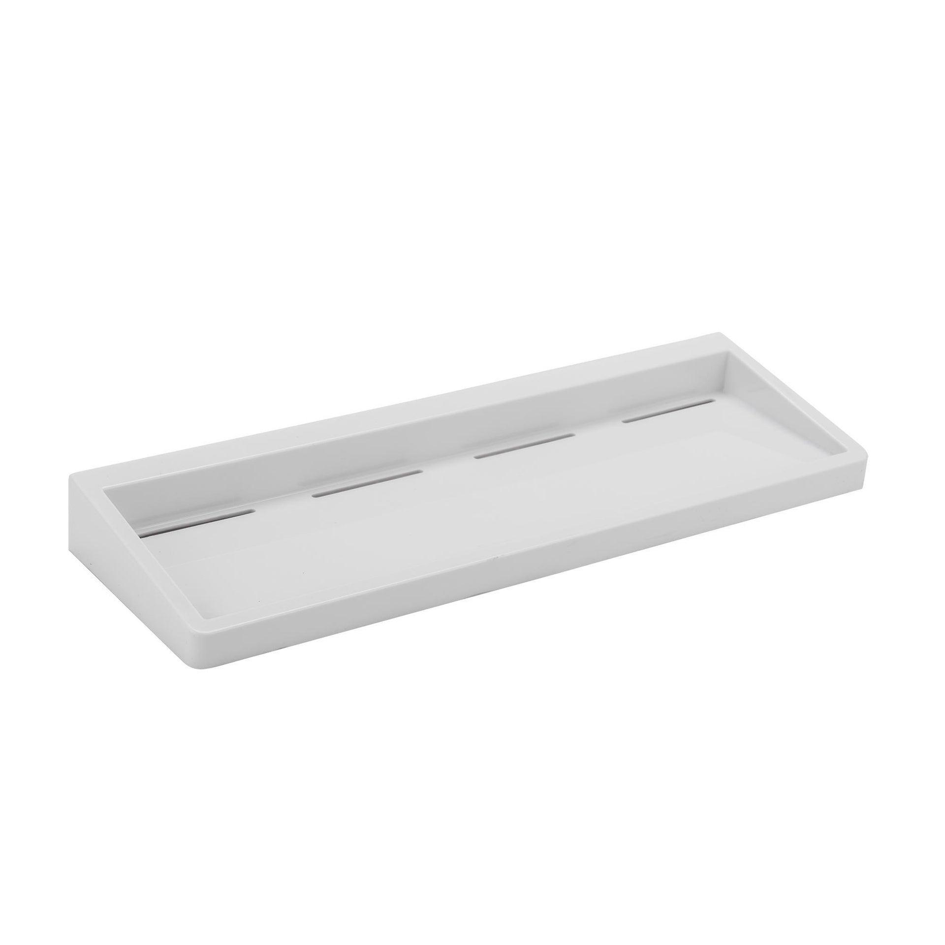 Mensola per bagno Funky L 40 cm bianco - 1