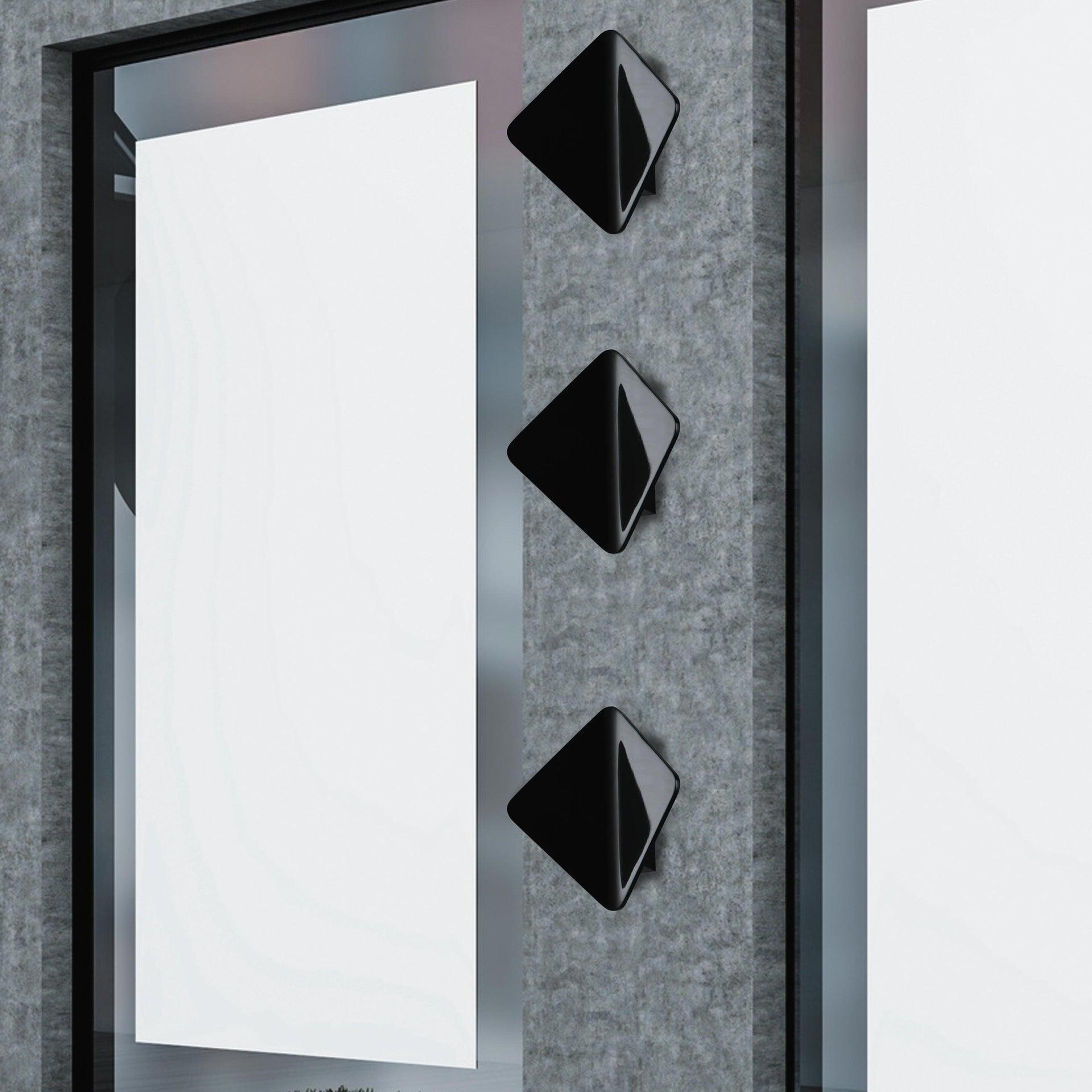 Applique Kite LED integrato in alluminio, nero, 40W 550LM IP54 INTEC - 4