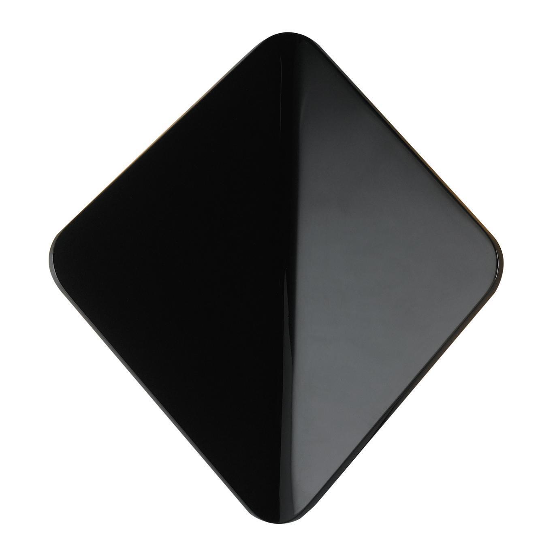 Applique Kite LED integrato in alluminio, nero, 40W 550LM IP54 INTEC - 6