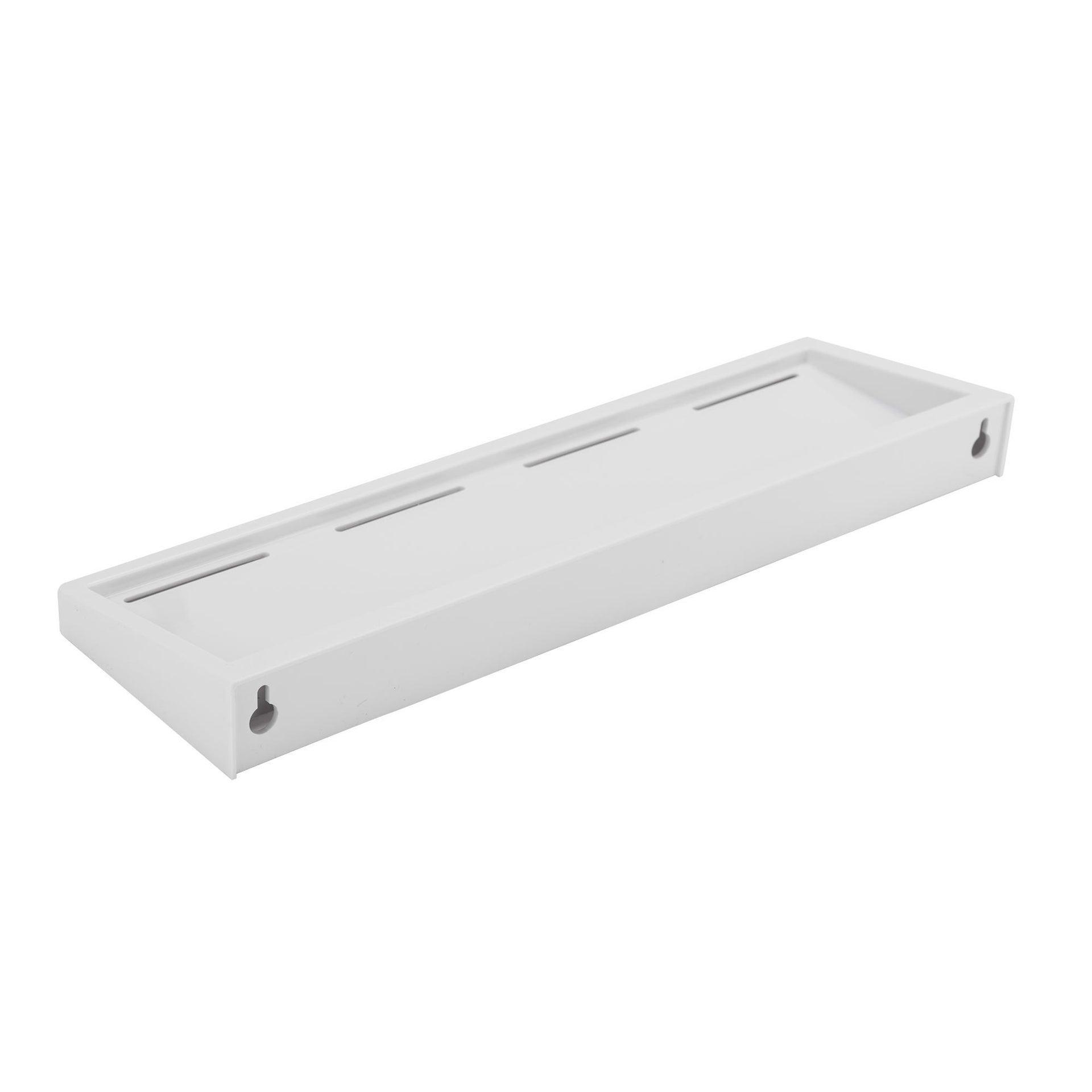 Mensola per bagno Funky L 40 cm bianco - 2