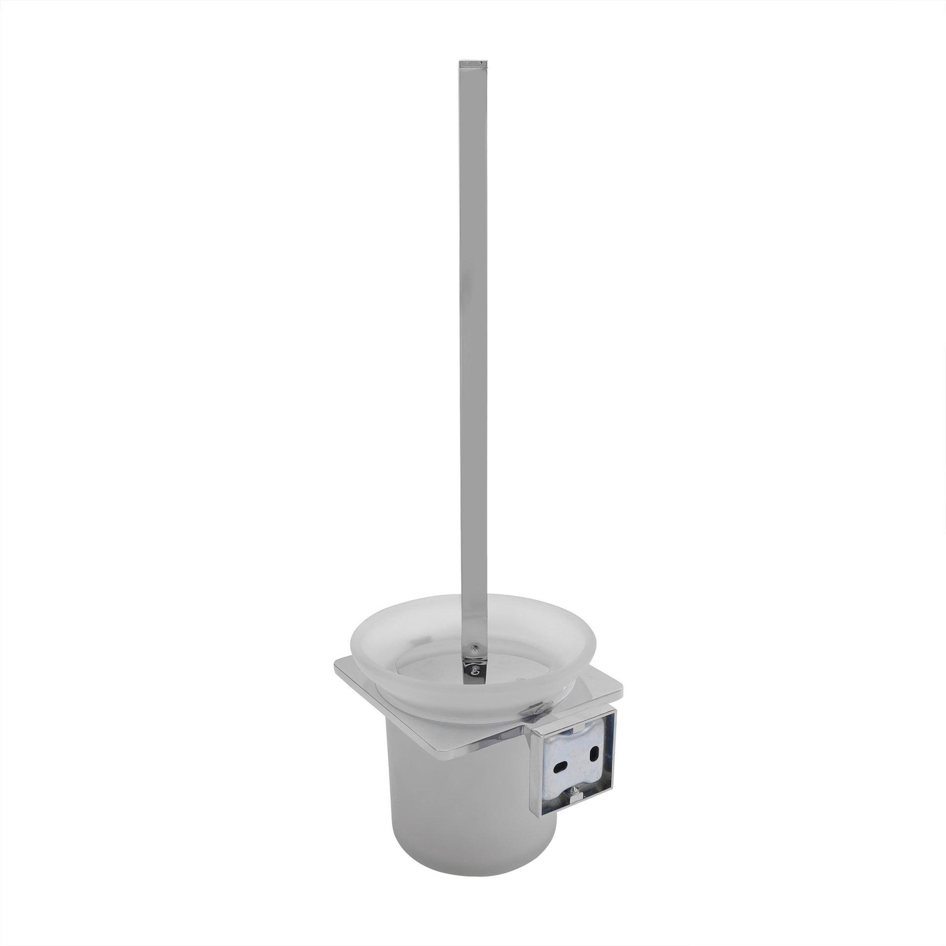 Porta scopino wc a muro grigio - 1
