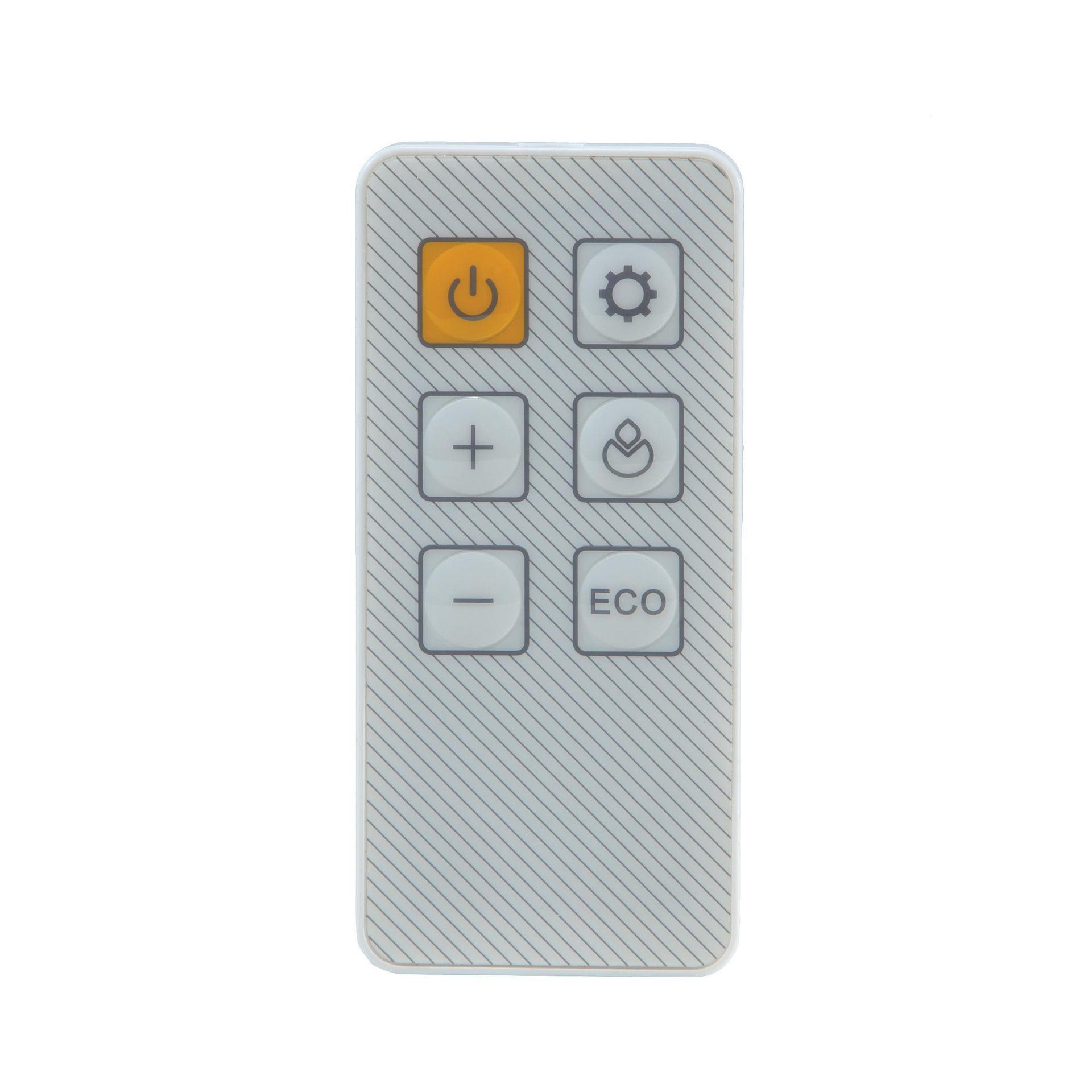 Termoventilatore ceramico mobile EQUATION bianco 2500 W - 3