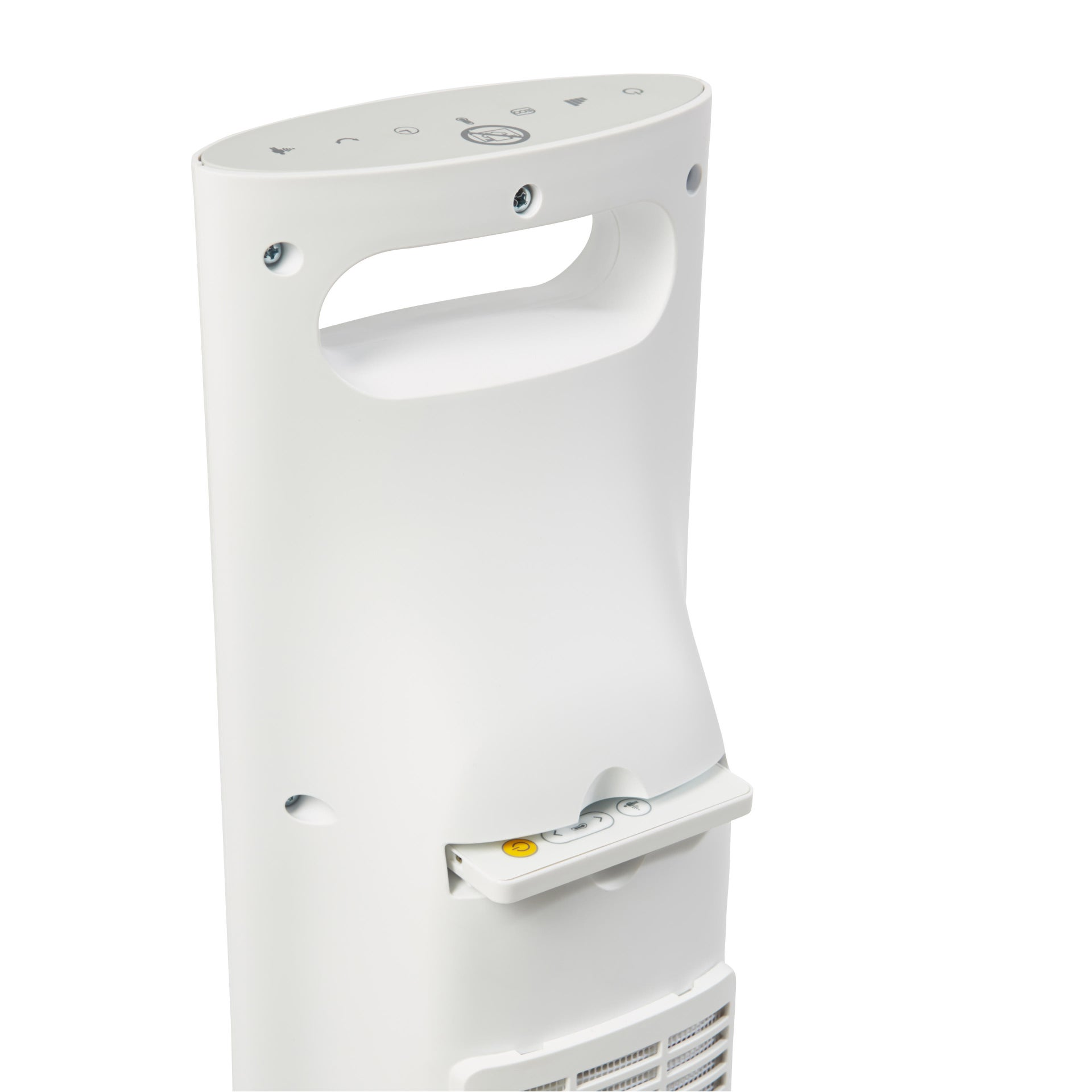 Termoventilatore elettrico EQUATION Presence bianco 2500 W - 11