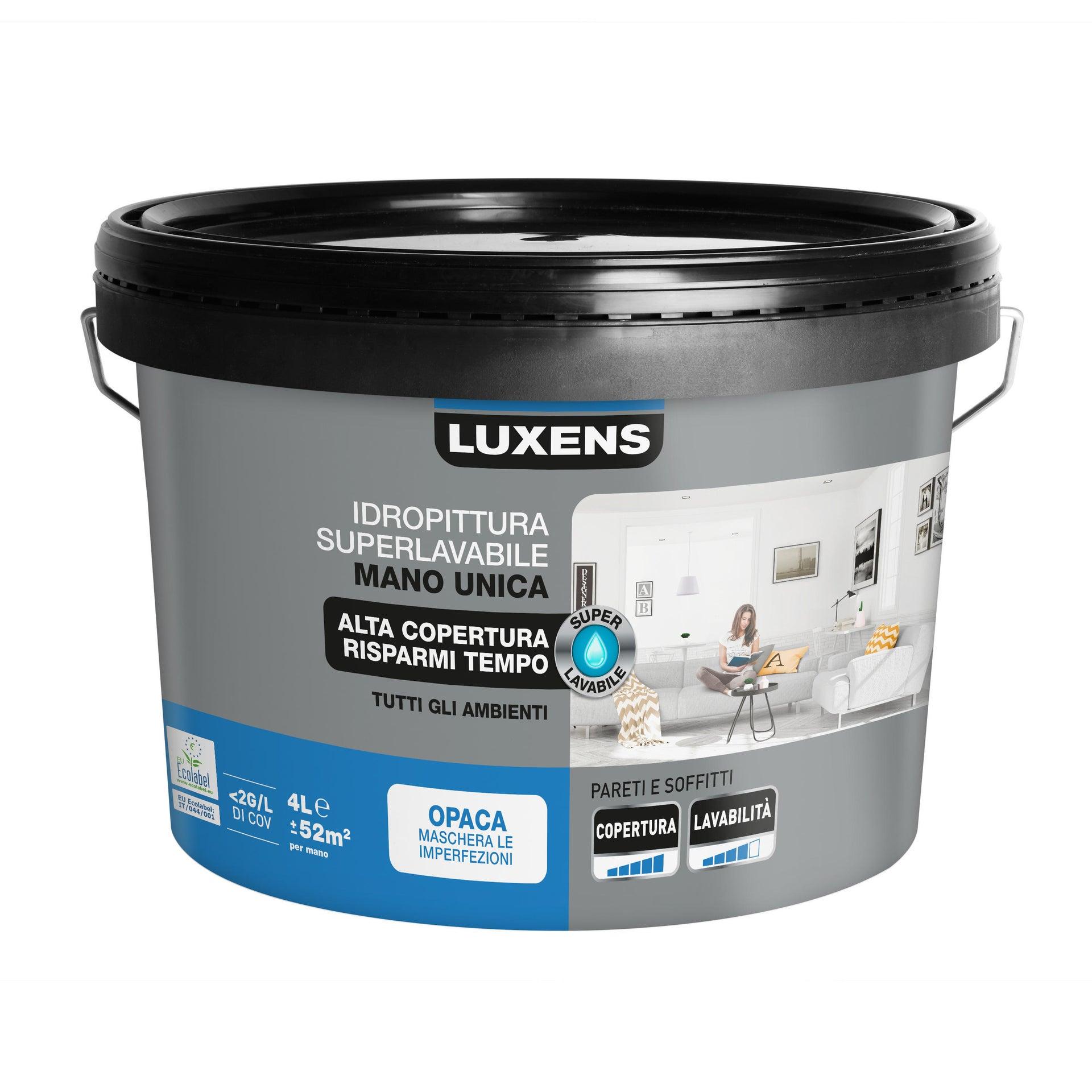 Pittura murale 275197G500001 LUXENS 4 L bianco - 8