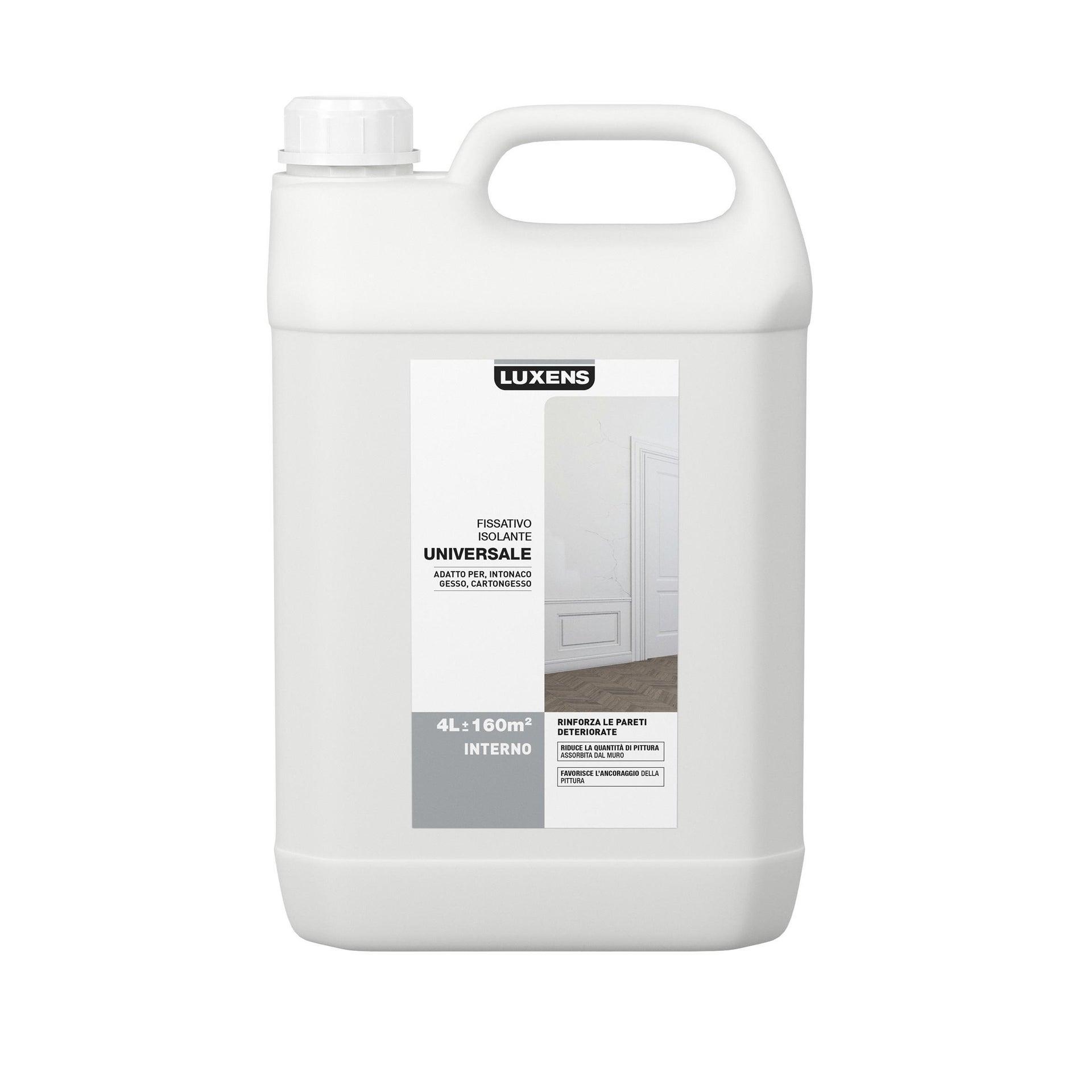 Fissativo LUXENS base acqua interno Isolante 4 L - 3