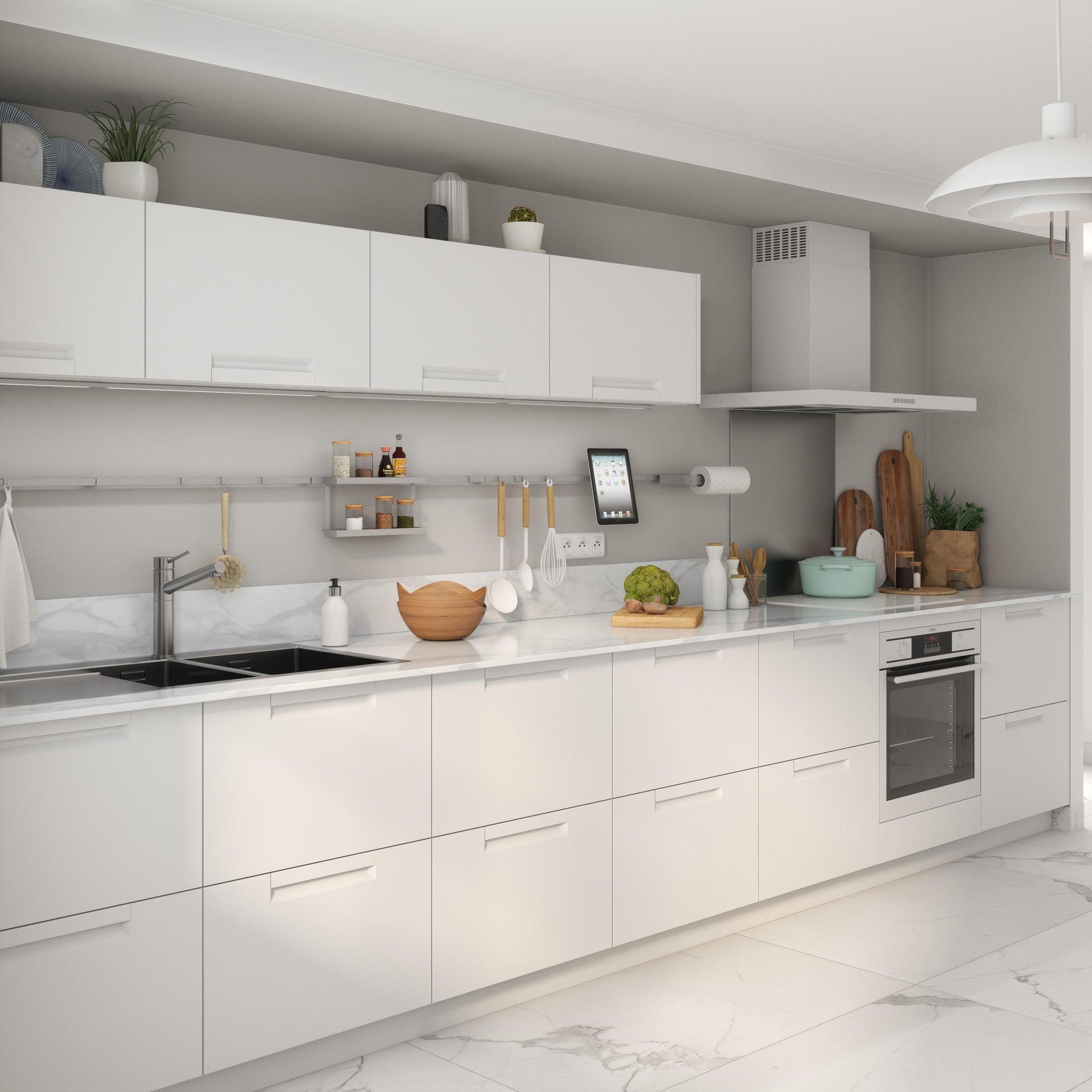 Cucina in kit Evora bianco L 255 cm - 1