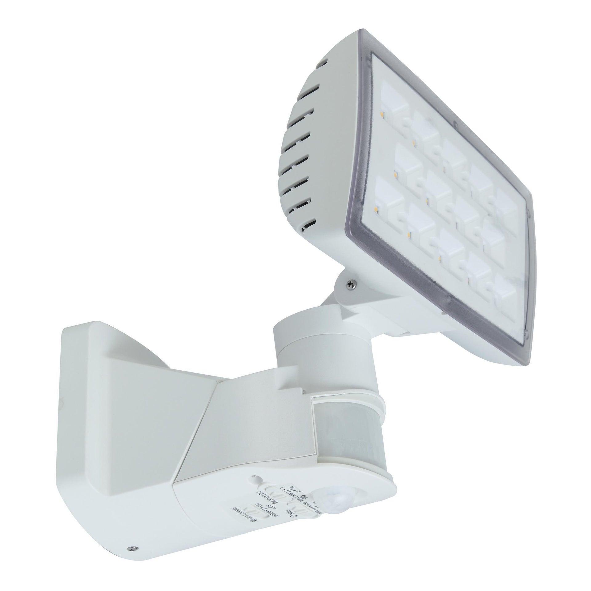 Applique Peri LED integrato con sensore di movimento, in policarbonato, grigio, 20W 1710LM IP54 LUTEC - 3