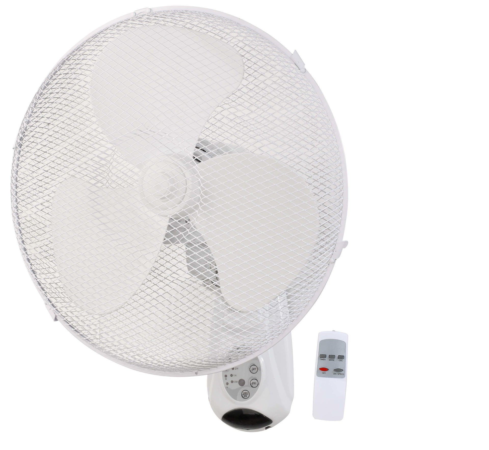 Ventilatore a parete EQUATION Derby bianco 45.0 W Ø 40.0 cm - 5