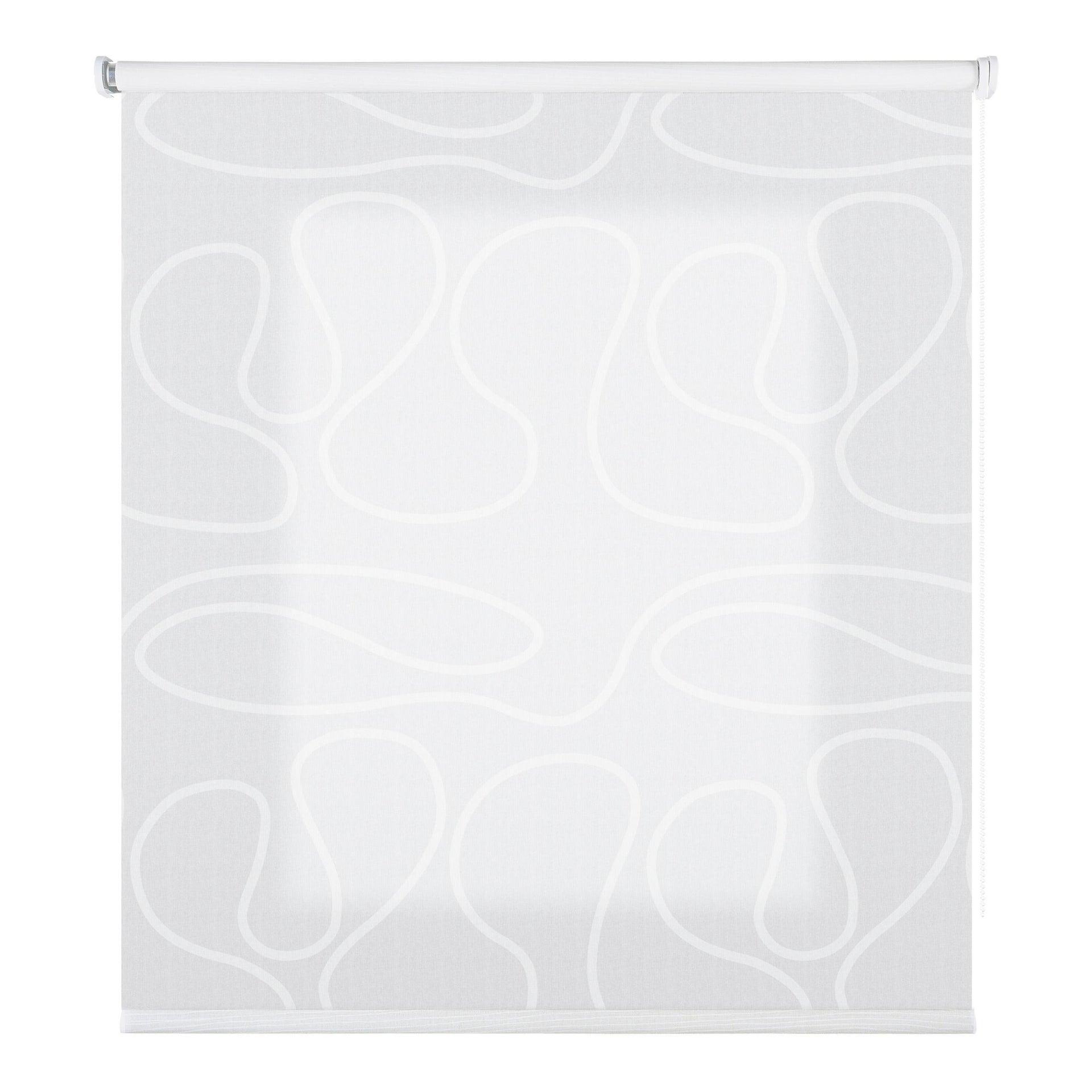 Tenda a rullo filtrante Duna bianco 45 x 250 cm - 2