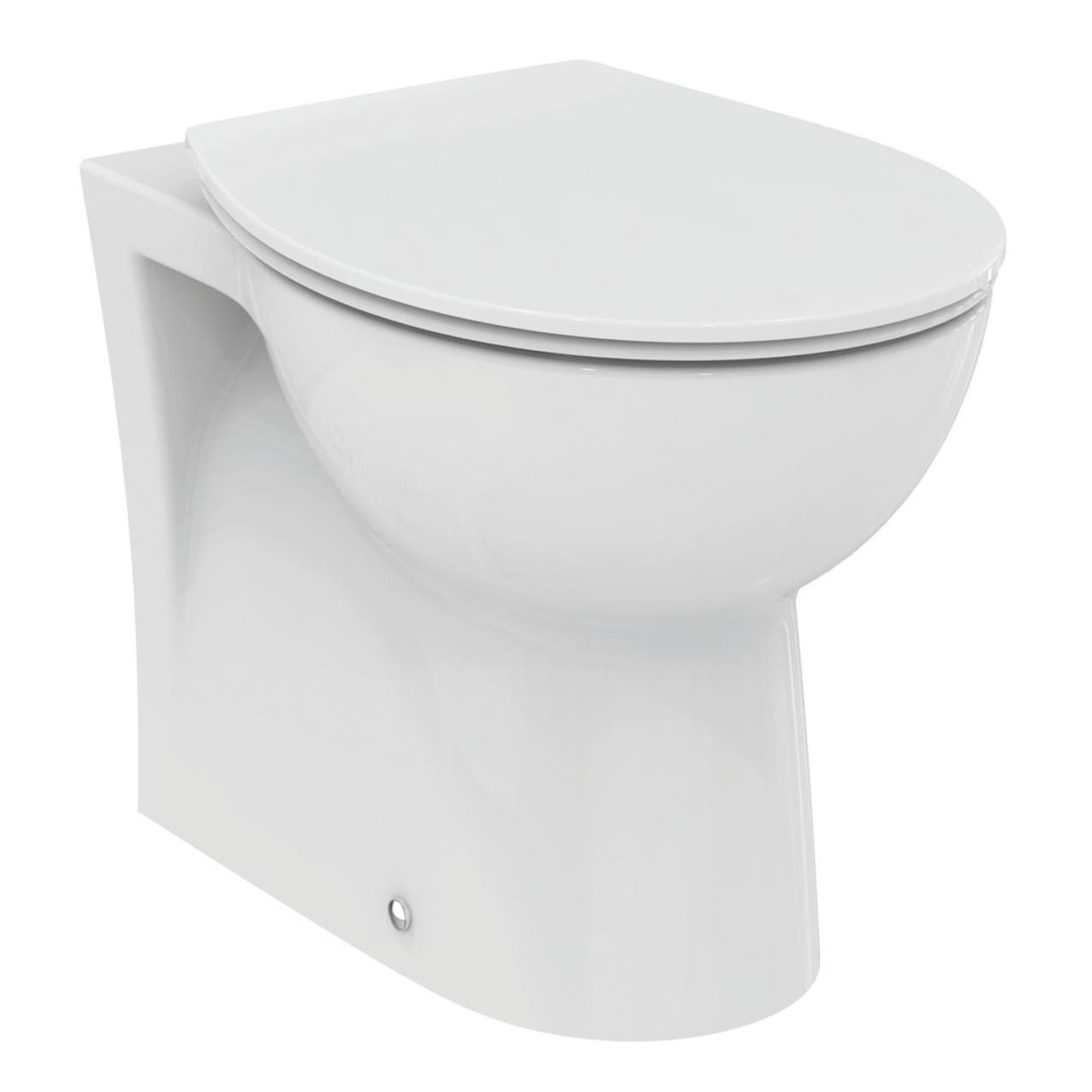 Coppia sanitari pavimento filo muro Miky New IDEAL STANDARD - 9