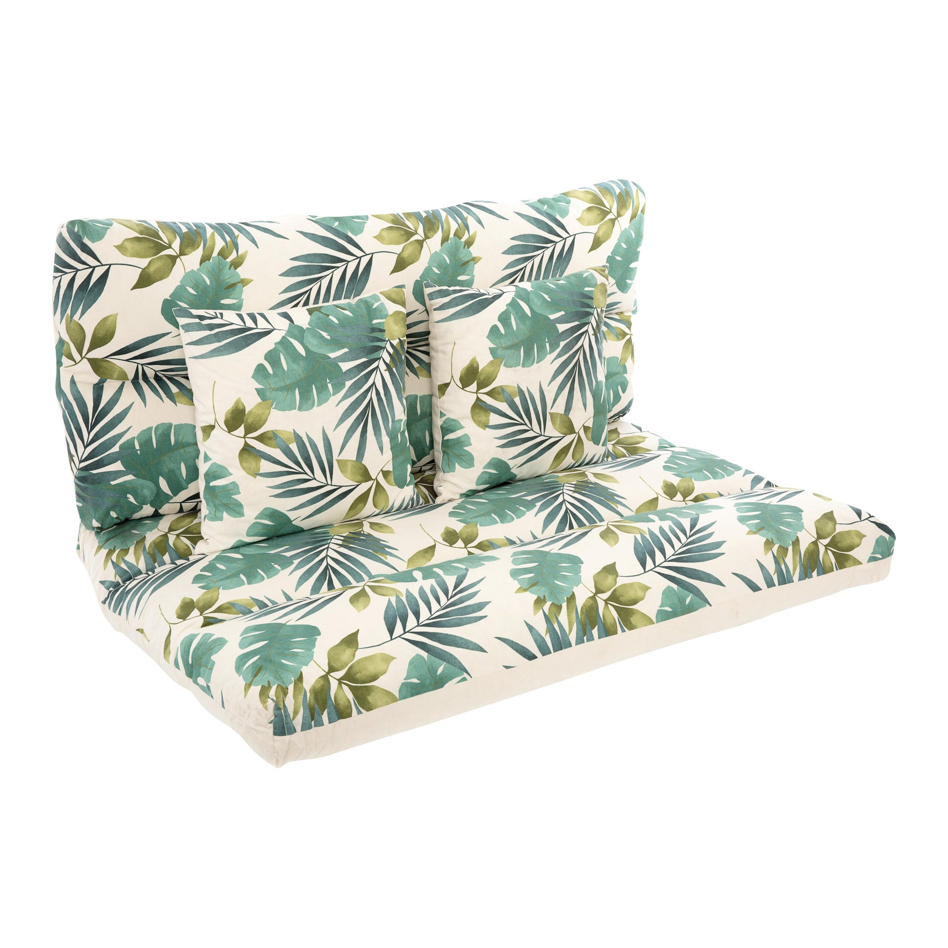Cuscino da esterno BRASILE multicolore 120 x 80 x Sp 80 cm , 4 pezzi - 1