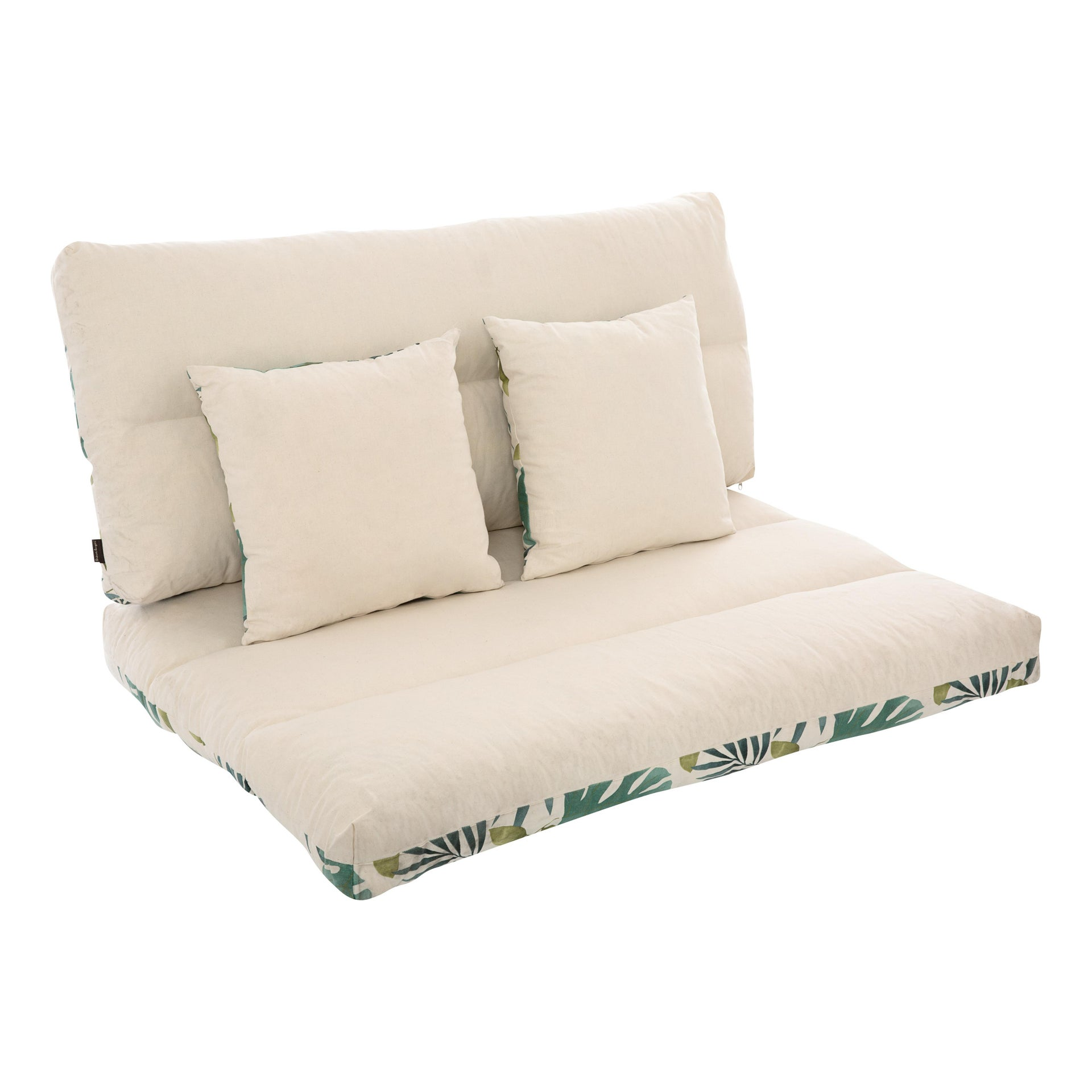 Cuscino da esterno BRASILE multicolore 120 x 80 x Sp 80 cm , 4 pezzi - 9