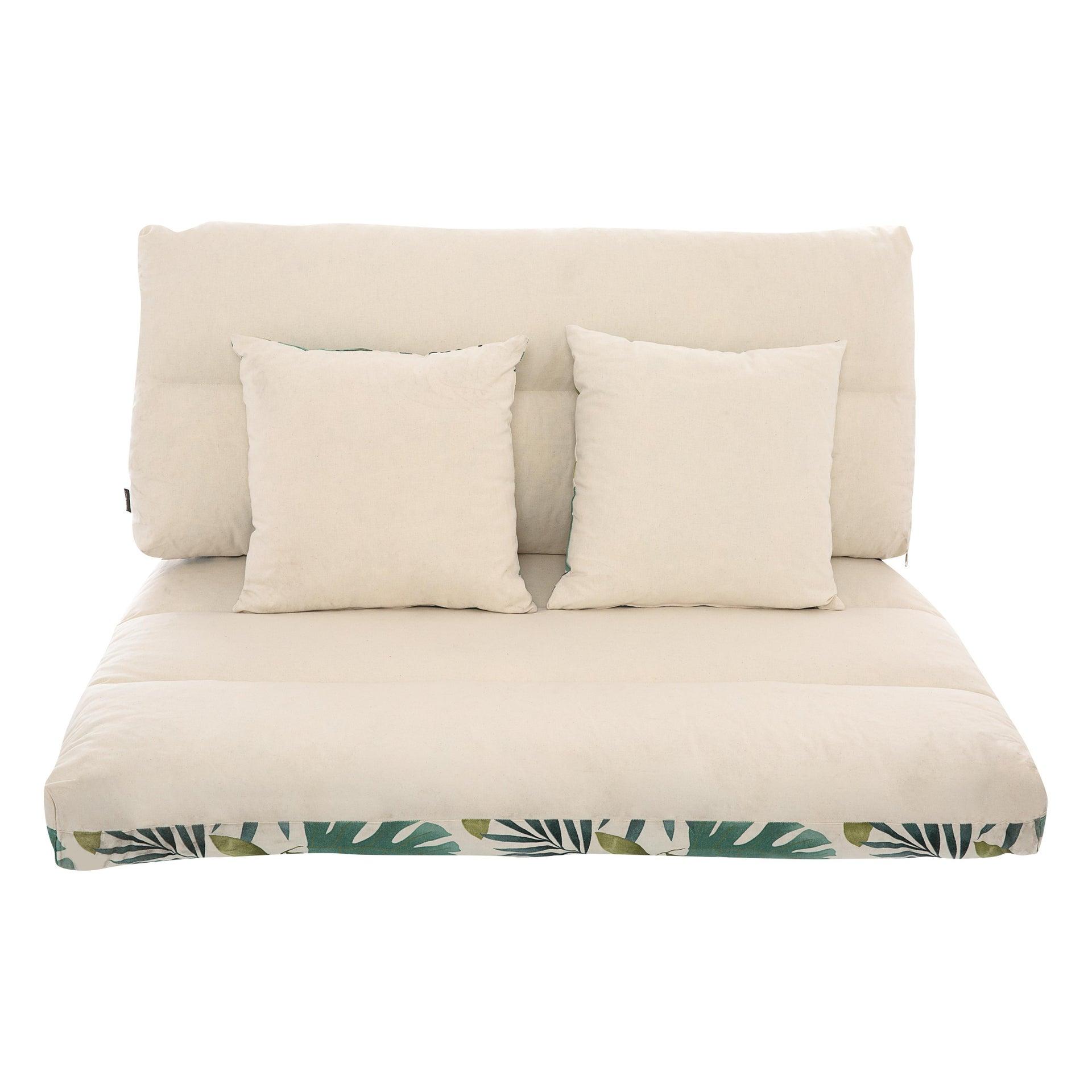 Cuscino da esterno BRASILE multicolore 120 x 80 x Sp 80 cm , 4 pezzi - 3