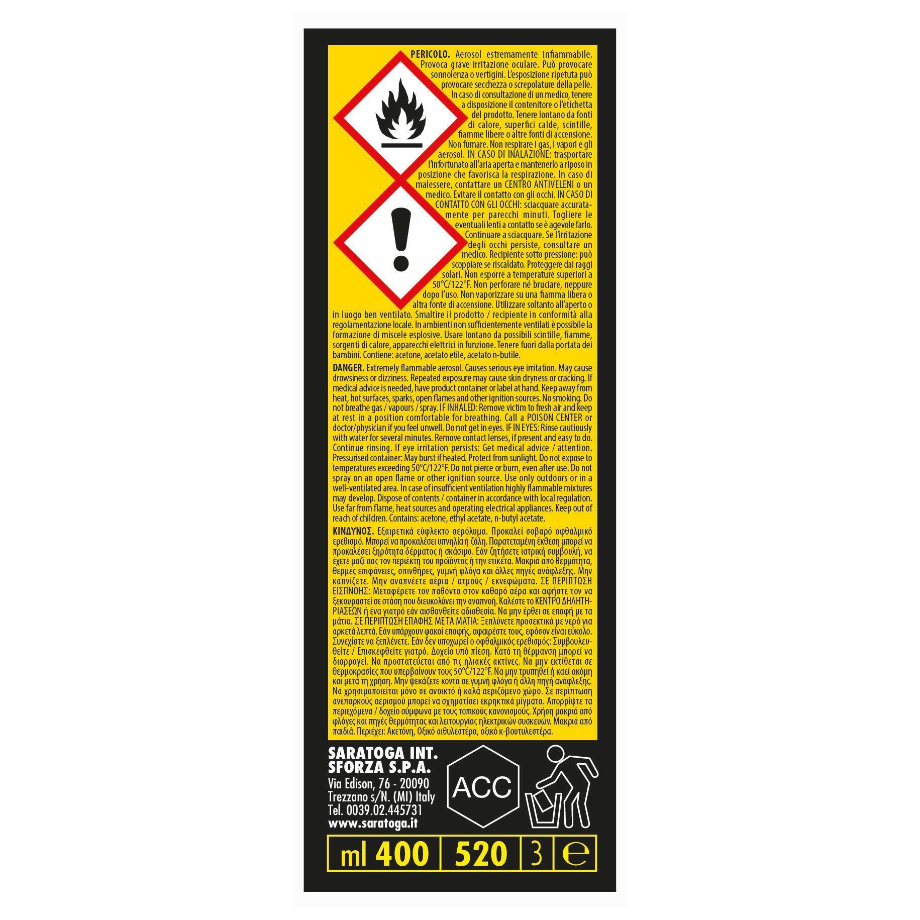 Smalto spray base solvente Fernovus 0.0075 L bianco ghiaccio lucido - 5