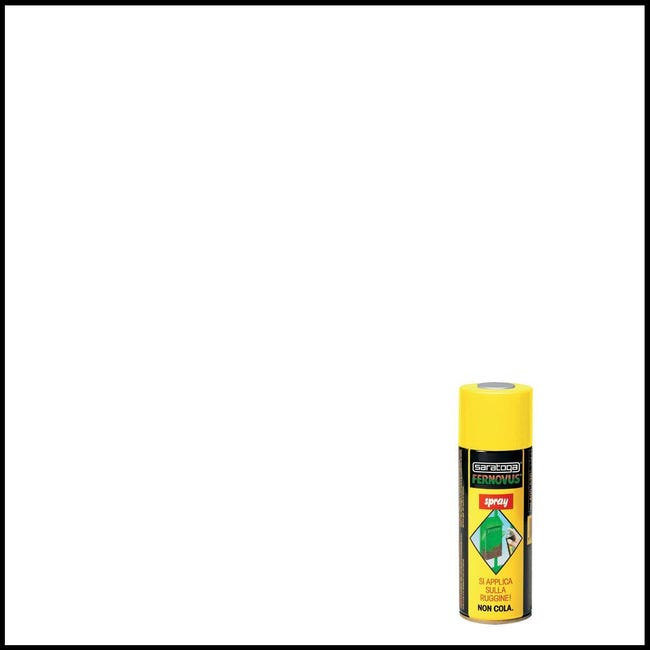 Smalto spray base solvente Fernovus 0.0075 L bianco ghiaccio lucido - 1