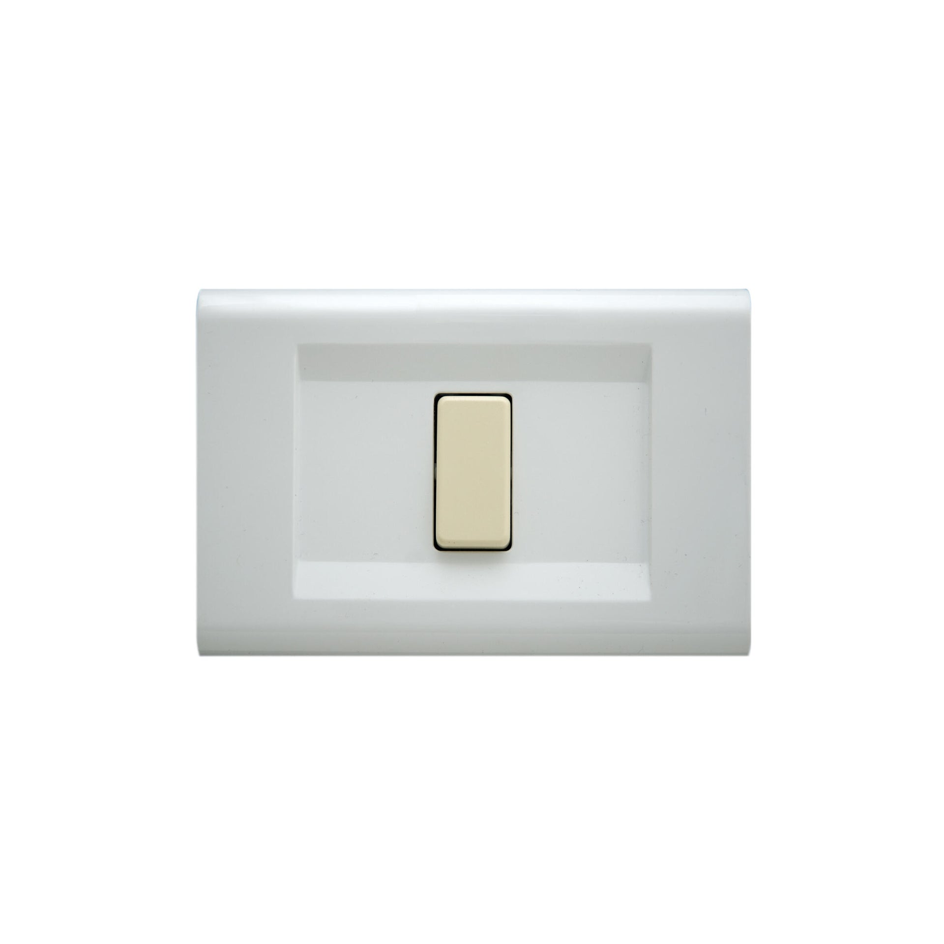 Placca Laser FEB 1 modulo bianco - 2